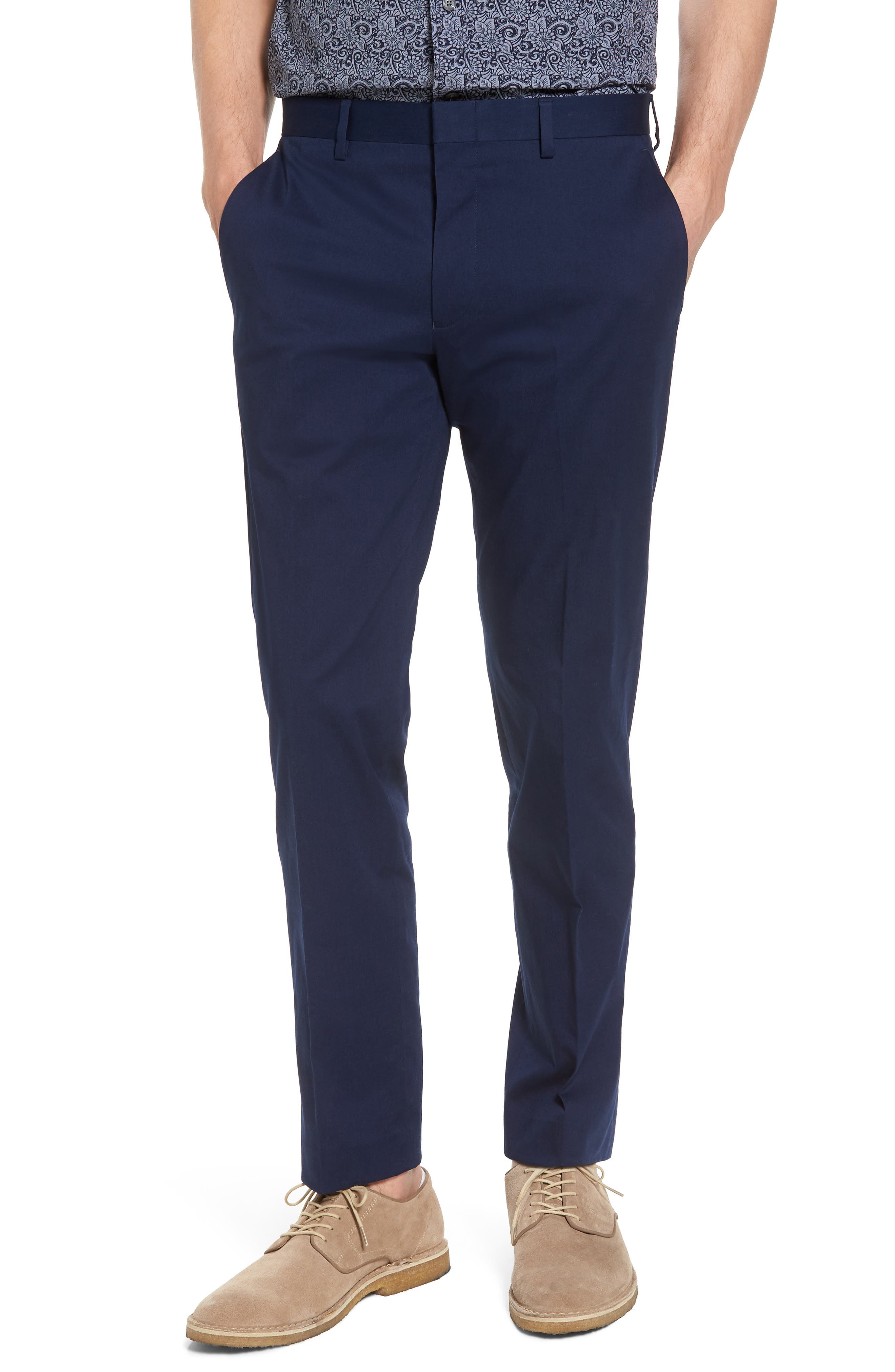 J.Crew Ludlow Stretch Chino Suit Pants