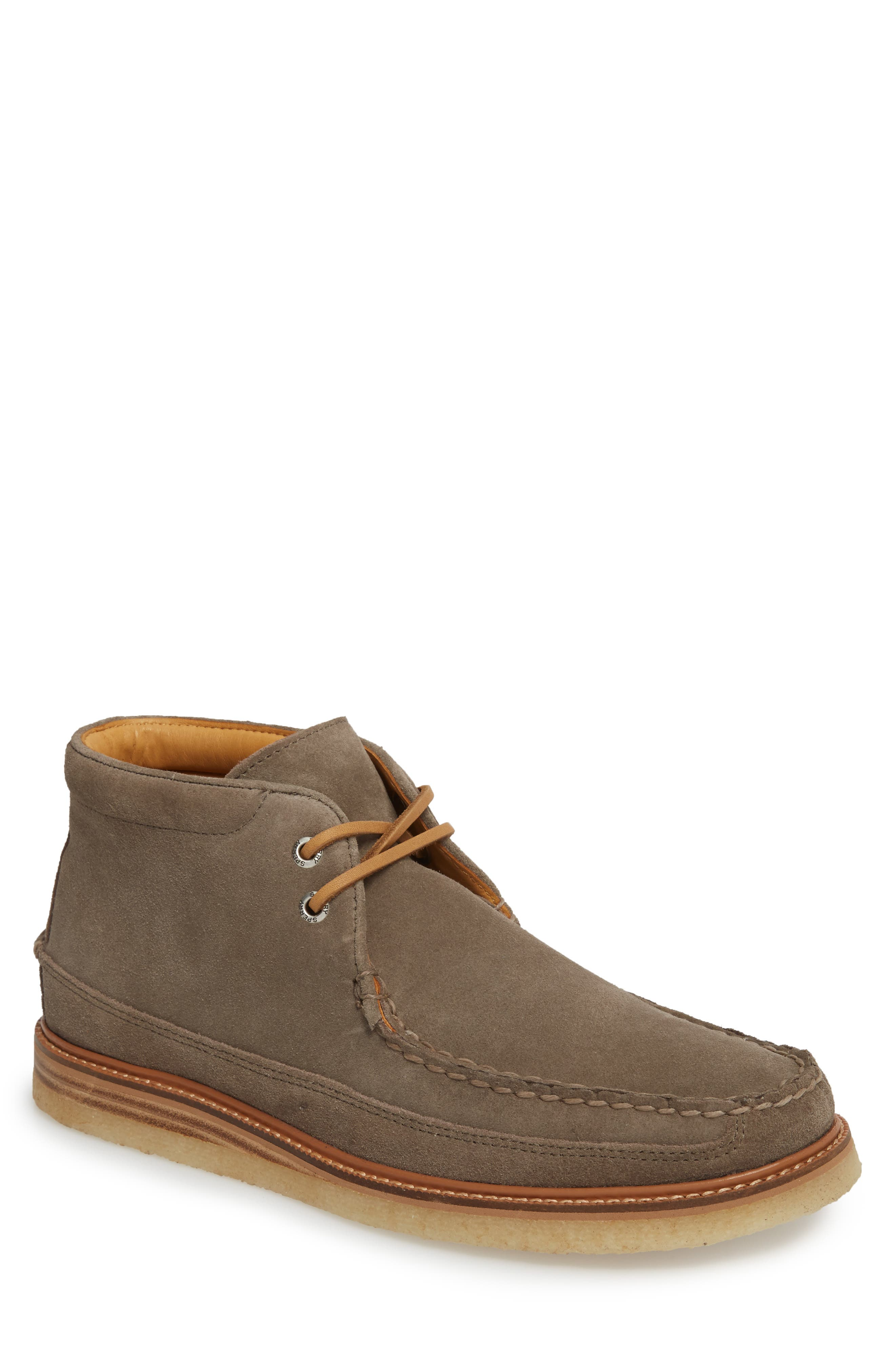 Gold Cup Chukka Boot,                             Main thumbnail 1, color,                             Taupe Grey Leather/ Suede