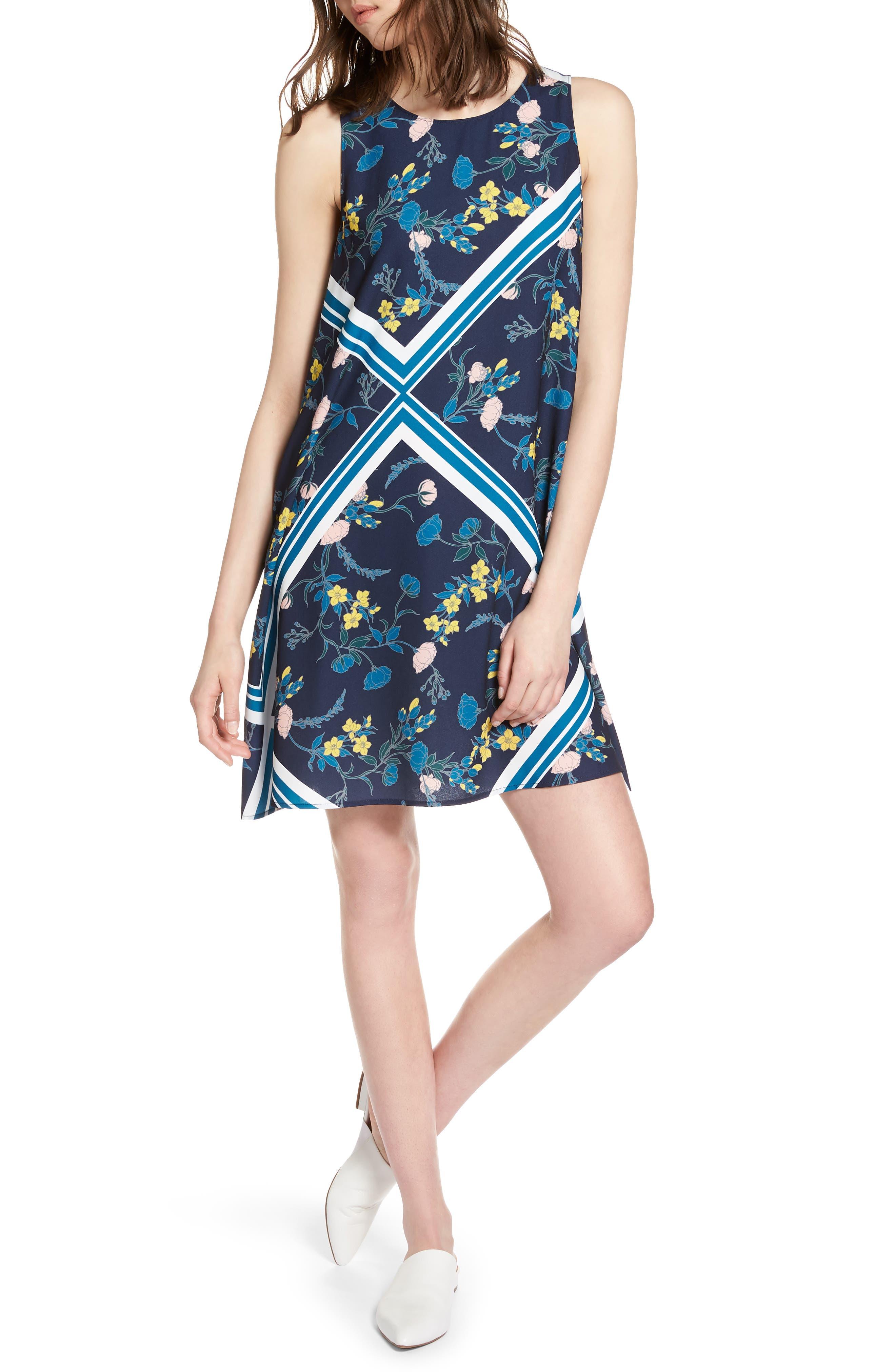 Alternate Image 1 Selected - Halogen® A-Line Dress (Regular & Petite)
