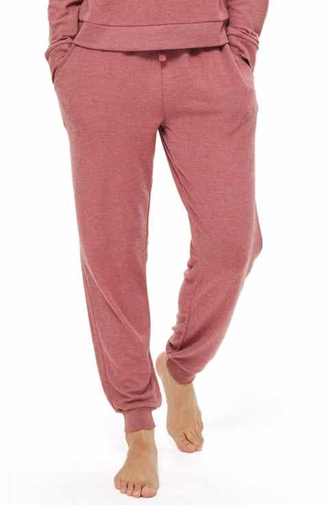 Topshop Rose Jogger Pajama Pants