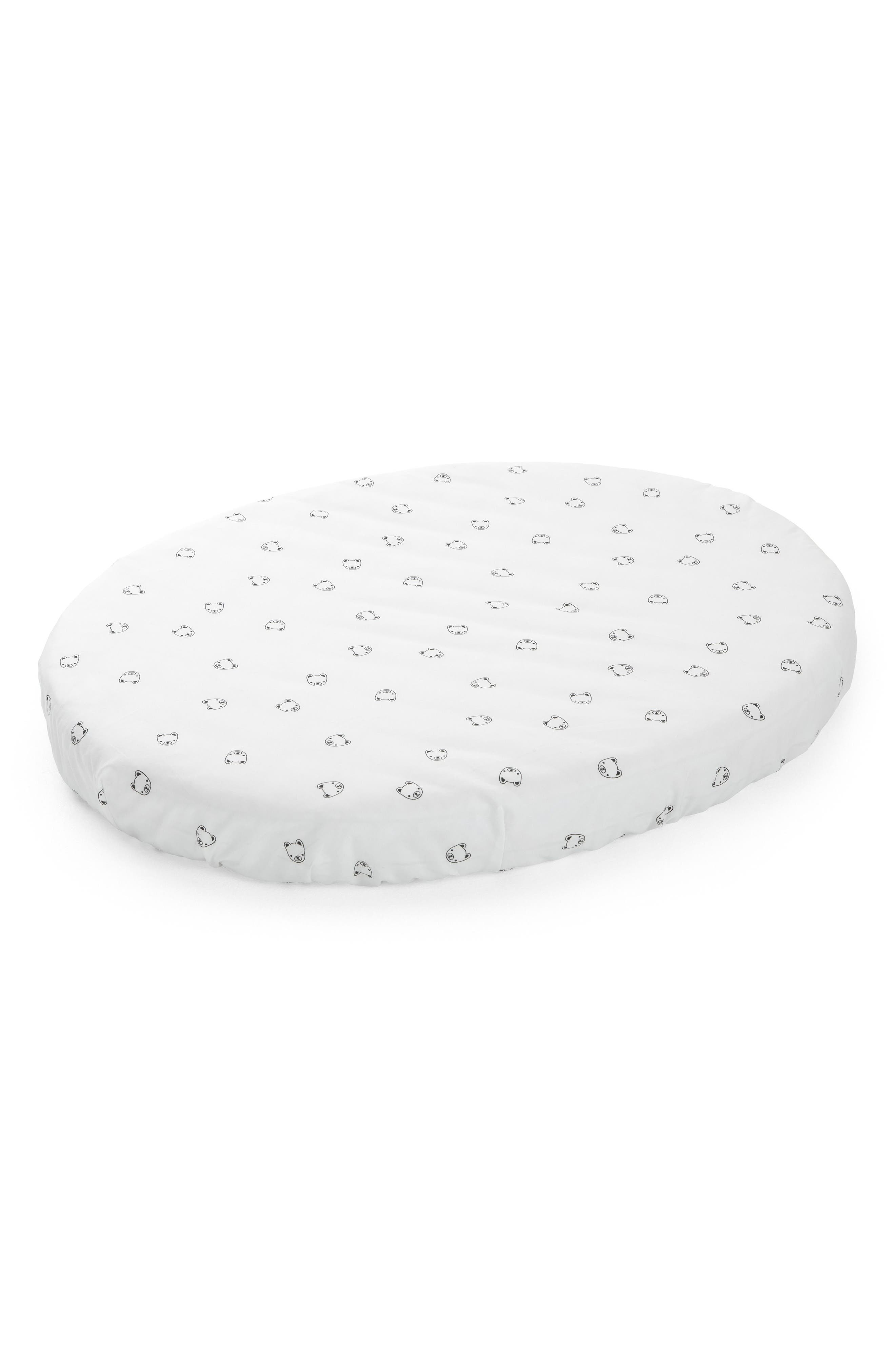 Stokke Sleepi Mini 300 Thread Count Fitted Cotton Sheet