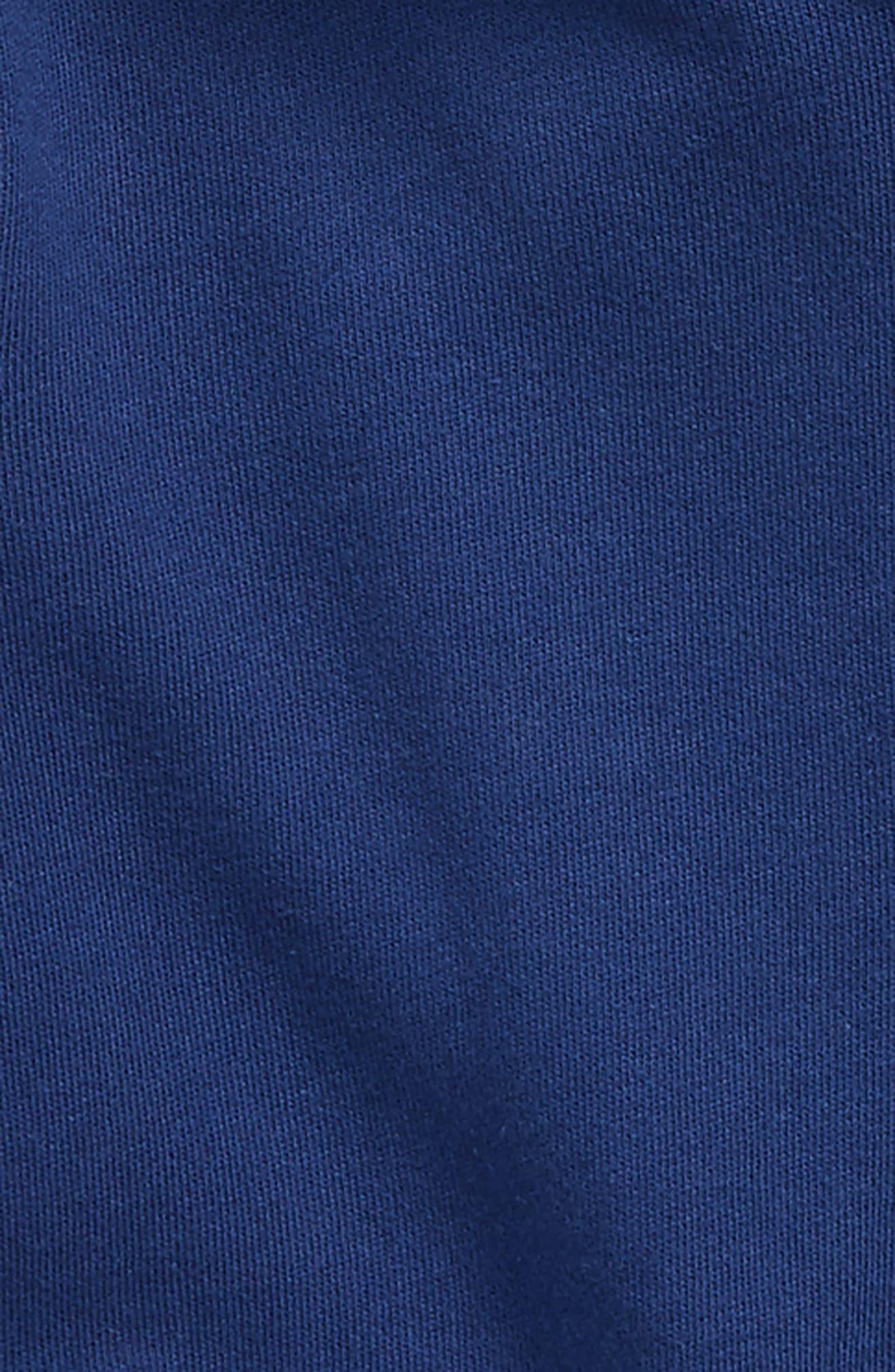 Starry Zip Hoodie,                             Alternate thumbnail 2, color,                             Beacon Blue