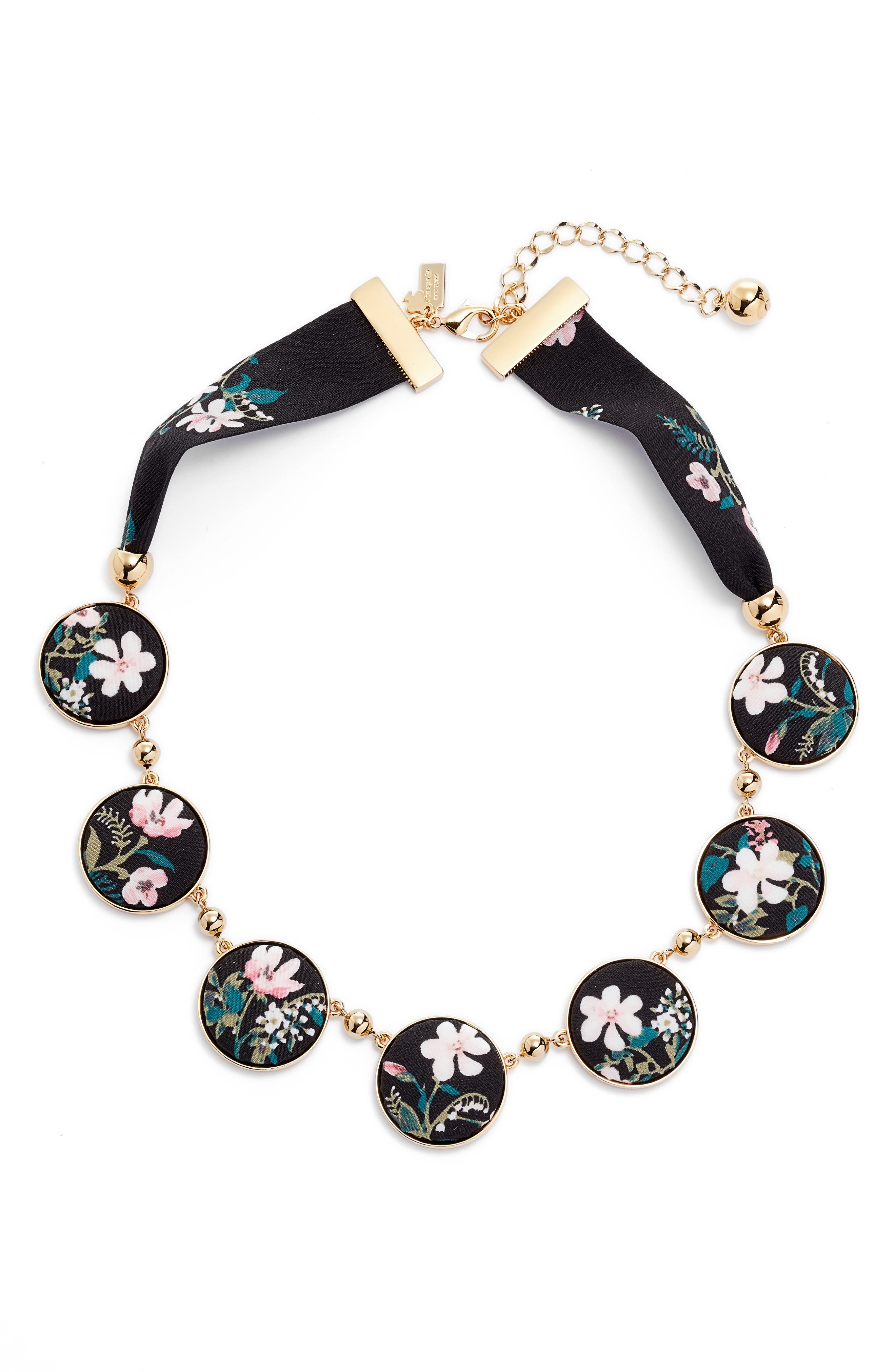 set sail necklace,                             Main thumbnail 1, color,                             Black
