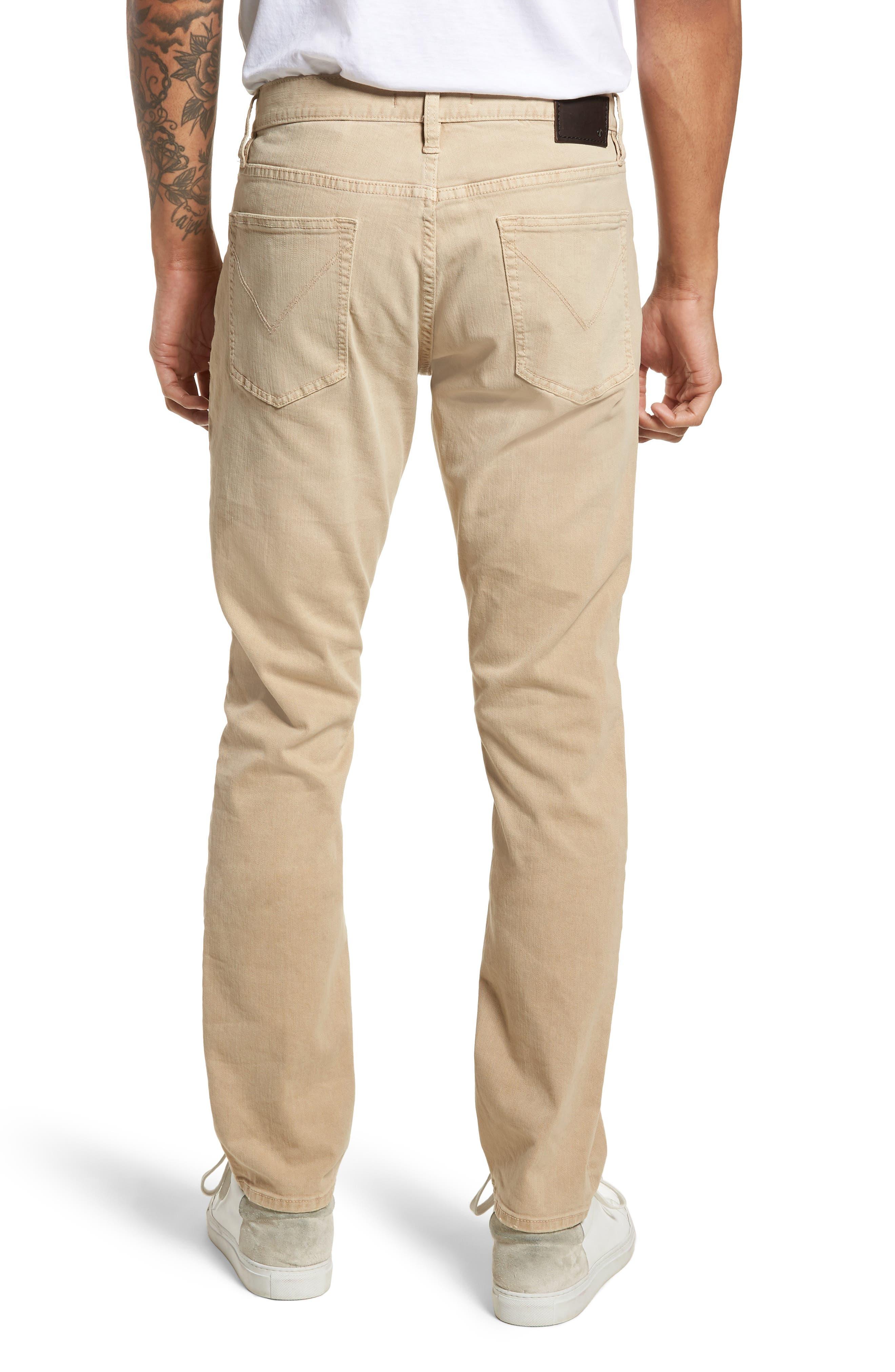 John Varvatos Star USA Wight Slim Fit Straight Leg Stretch Jeans,                             Alternate thumbnail 2, color,                             Twine
