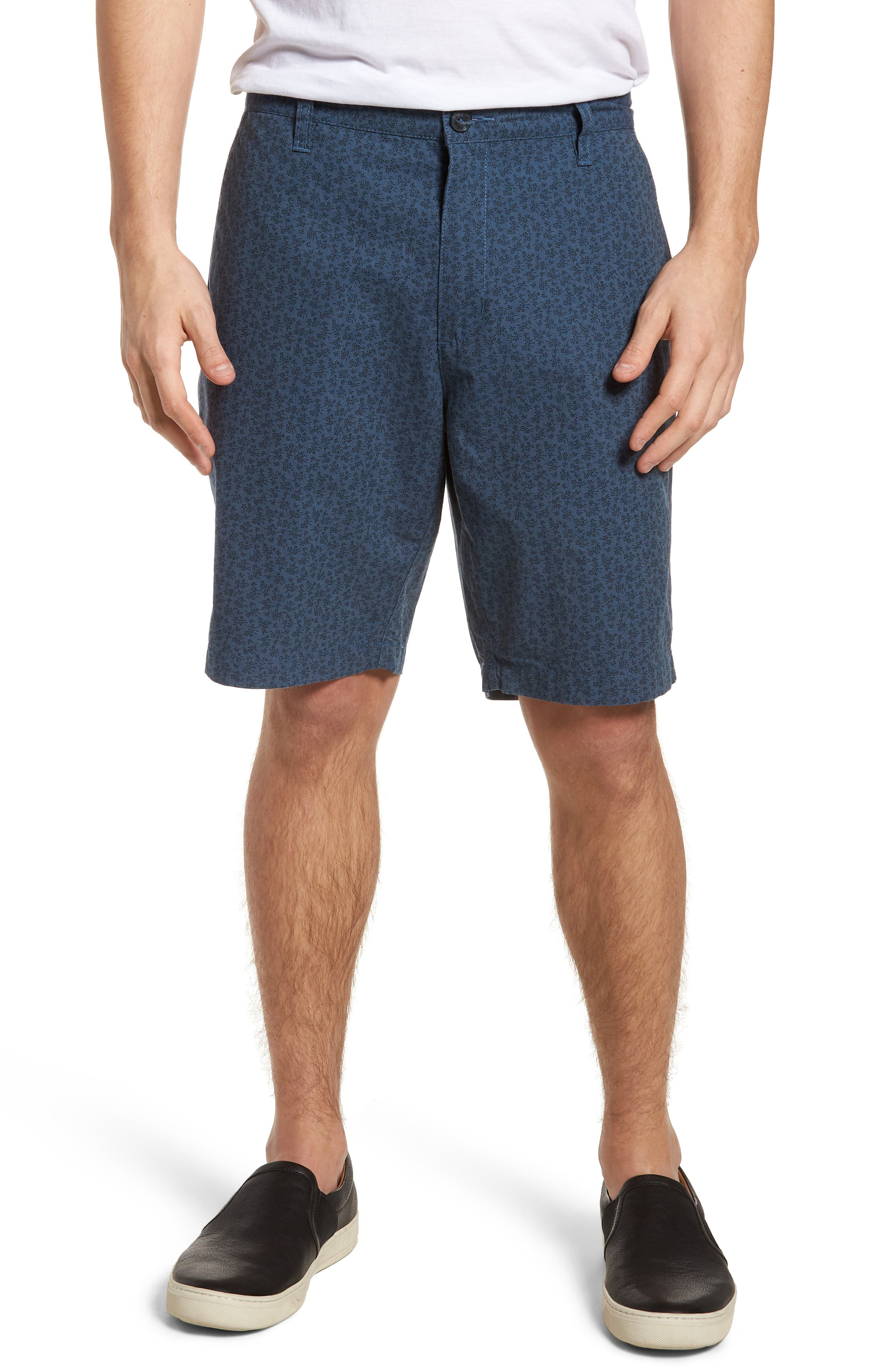 That'll Walk Oxford Shorts,                         Main,                         color, Blue Slate