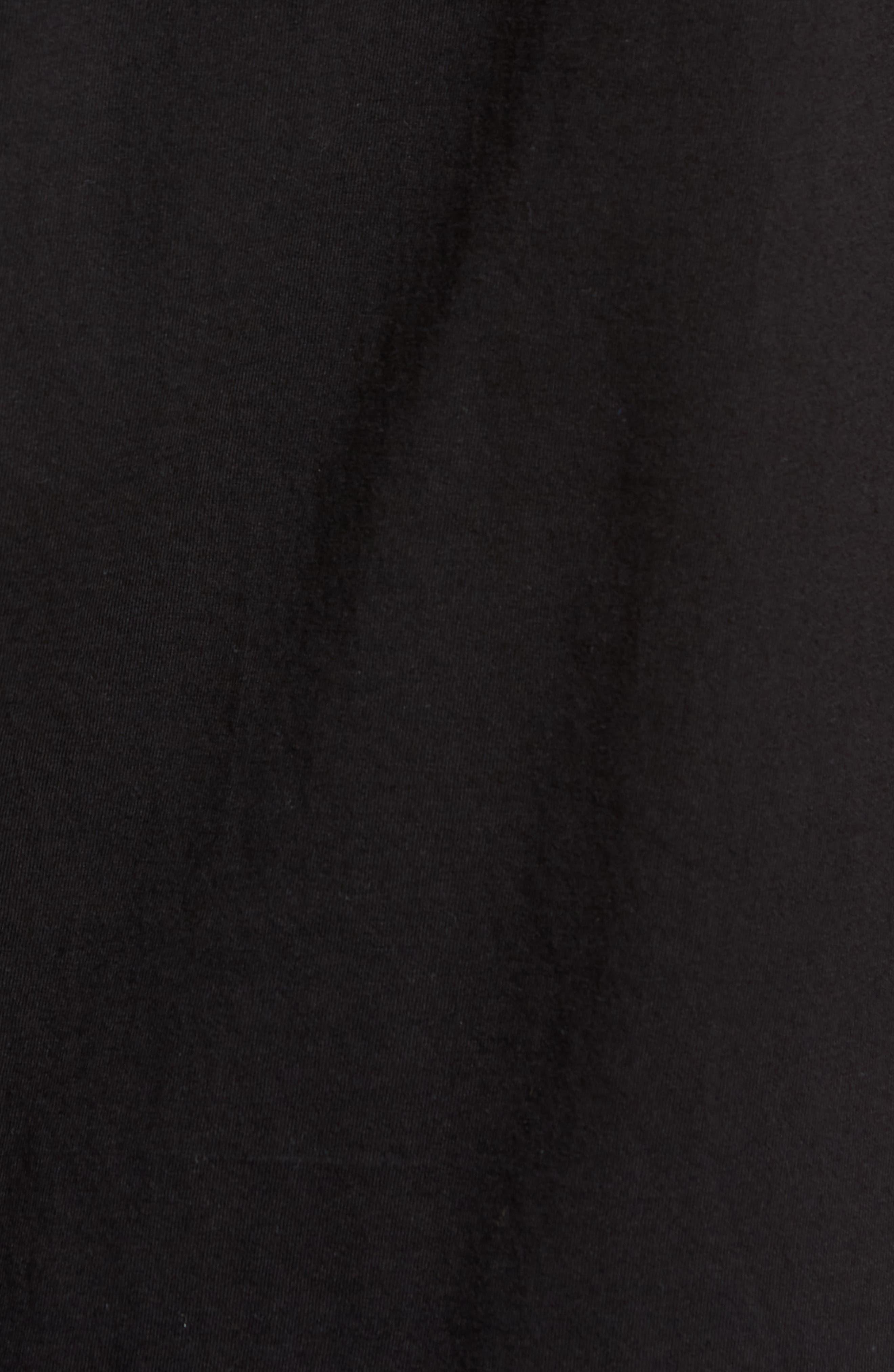 Square Root Graphic T-Shirt,                             Alternate thumbnail 5, color,                             Black