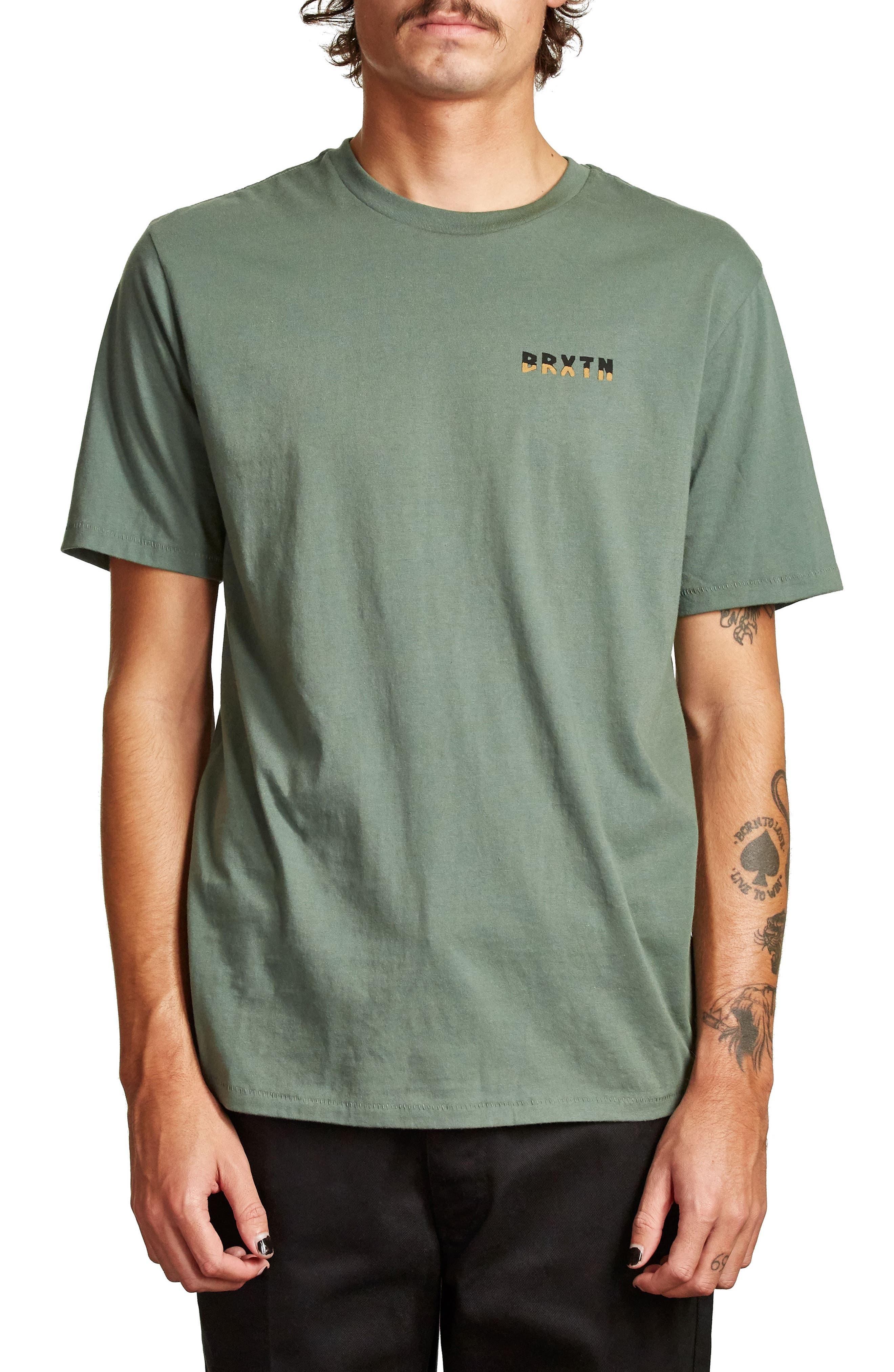 Escalada T-Shirt,                         Main,                         color, Washed Chive
