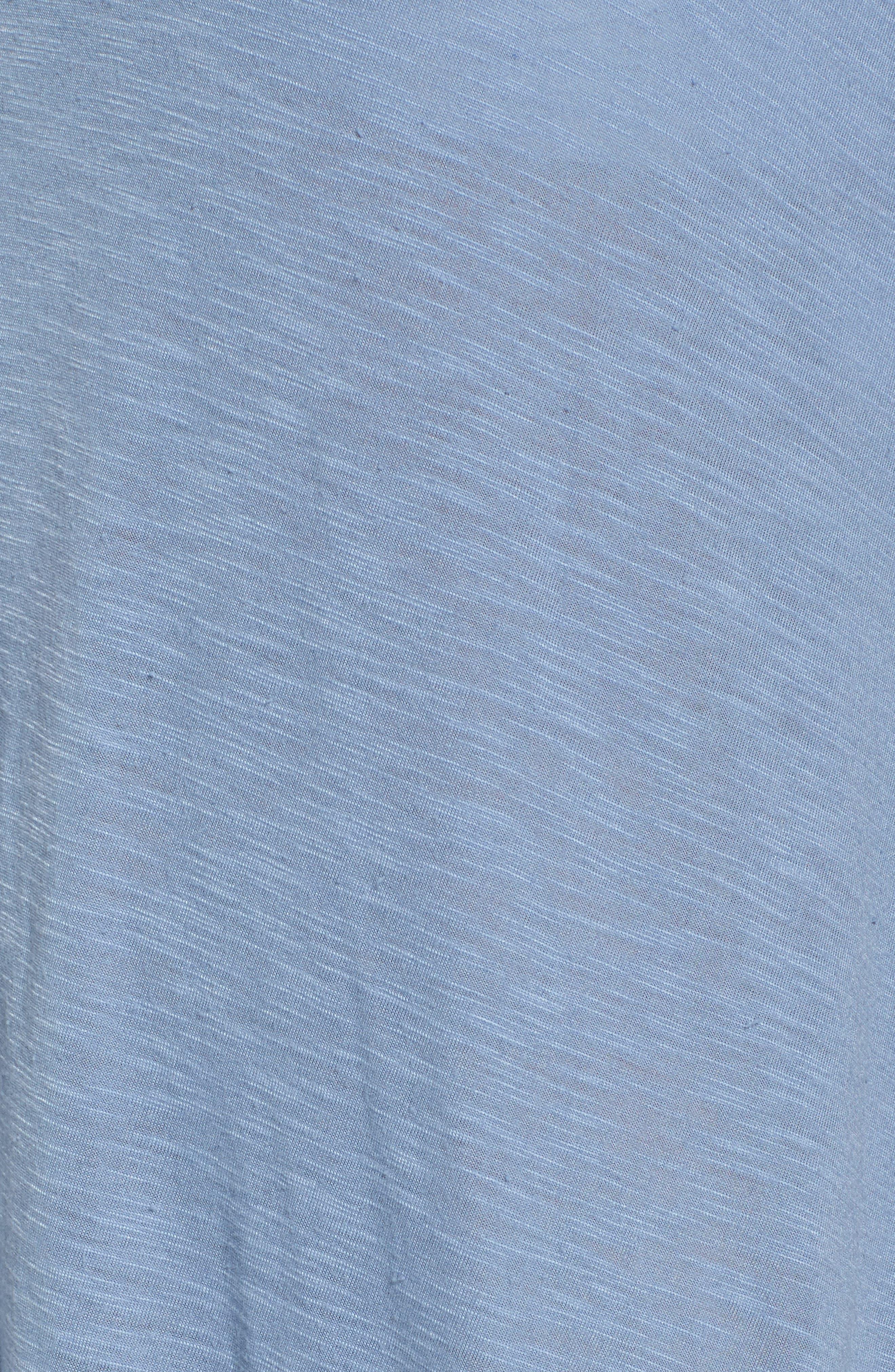 Breezy Basics Cover-Up Dress,                             Alternate thumbnail 5, color,                             Steel