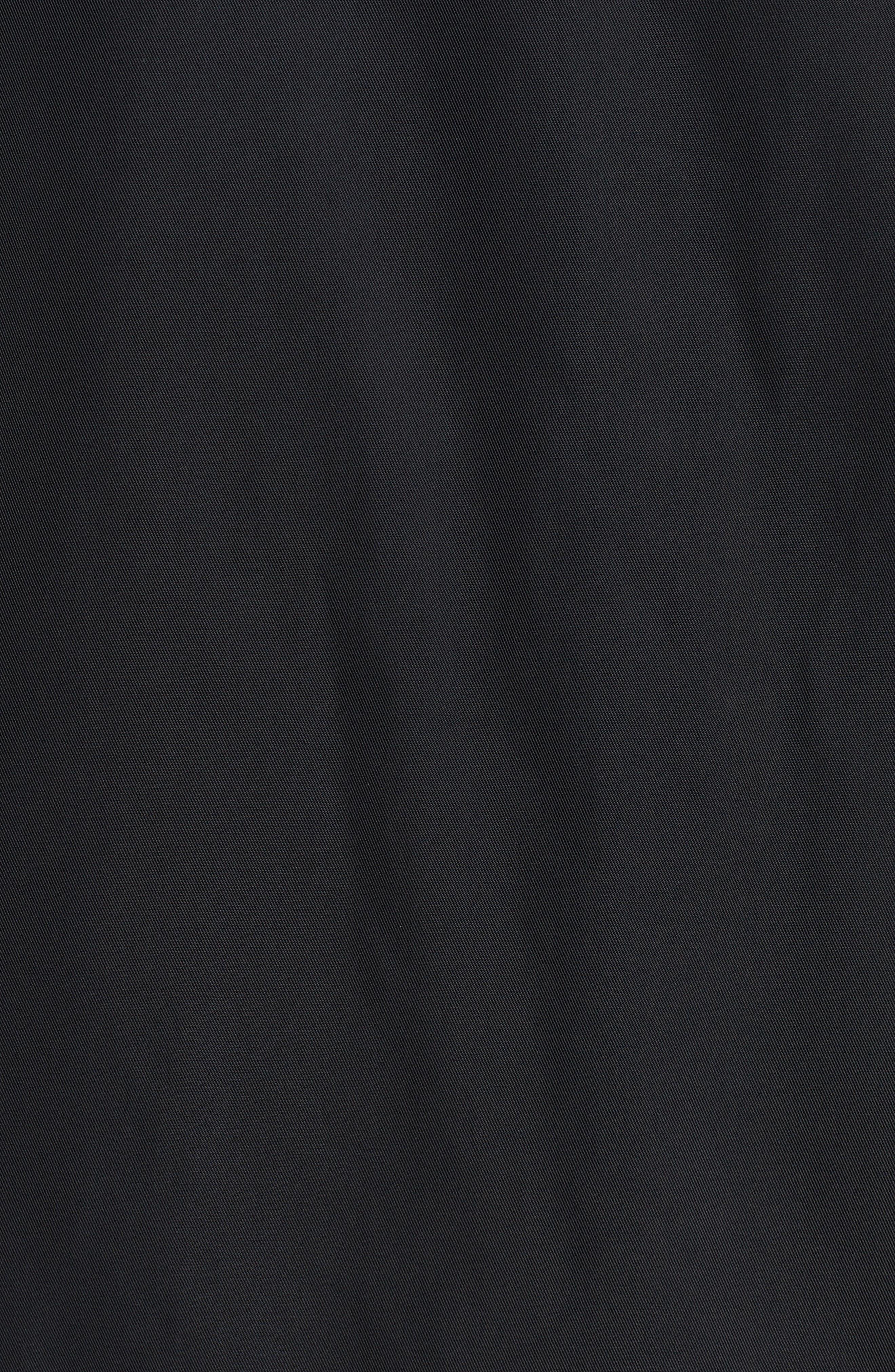 Torrey Water-Resistant Hooded Jacket,                             Alternate thumbnail 5, color,                             Black