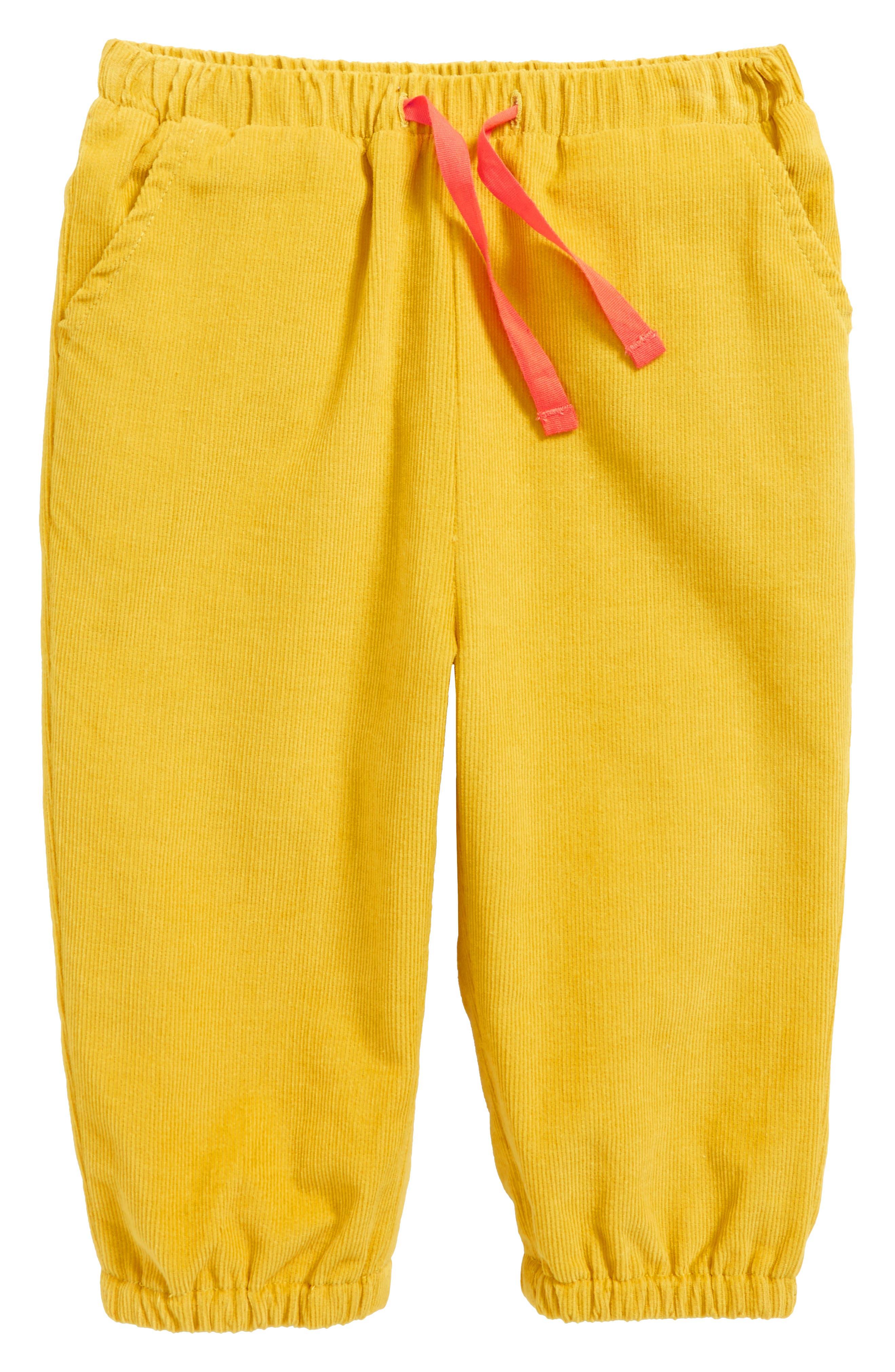 Pretty Woven Stripe Top & Corduroy Pants Set,                         Main,                         color, Blue Etoile/ Ecru