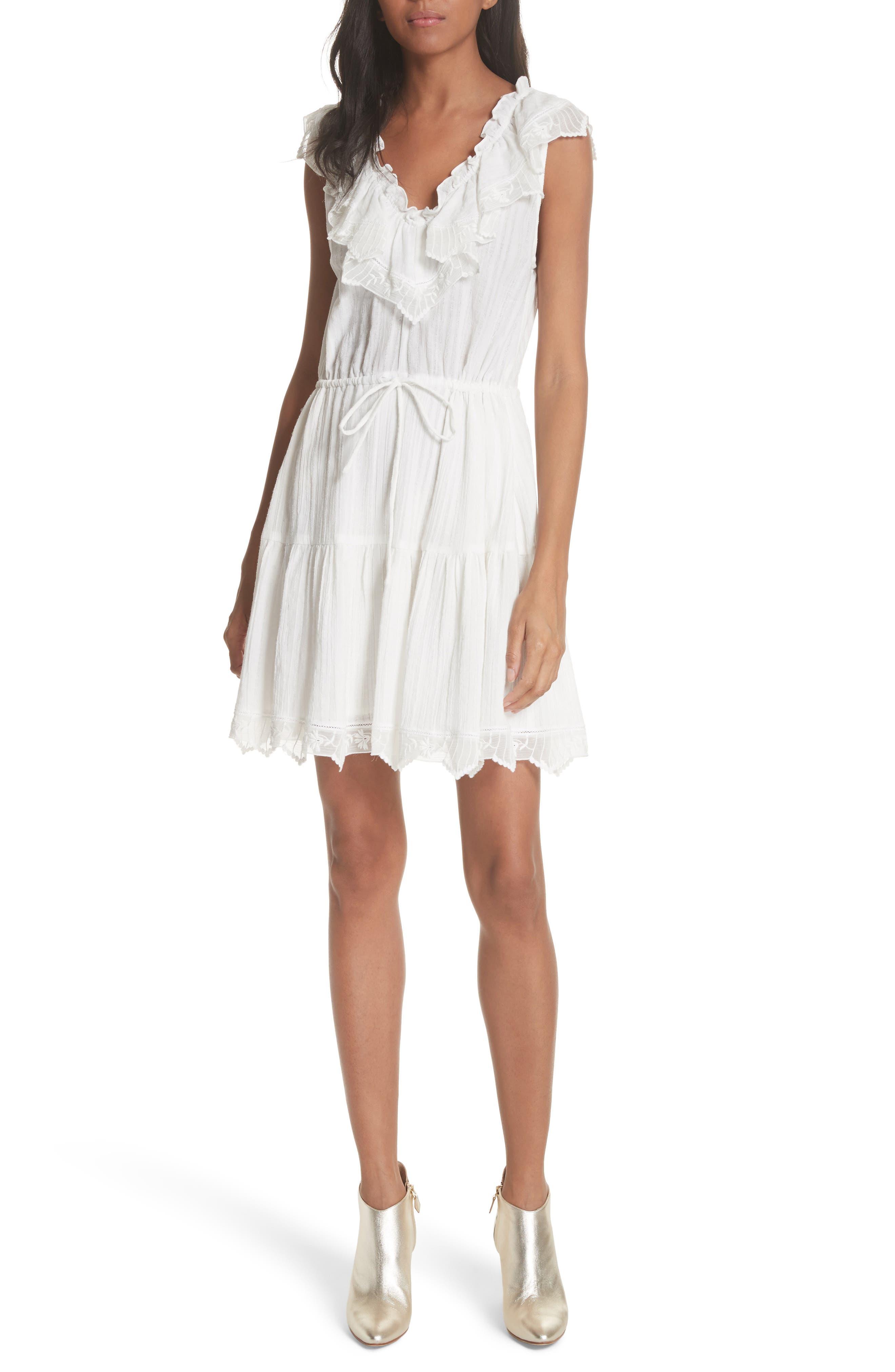 Main Image - Rebecca Taylor Mariana Ruffled Dress
