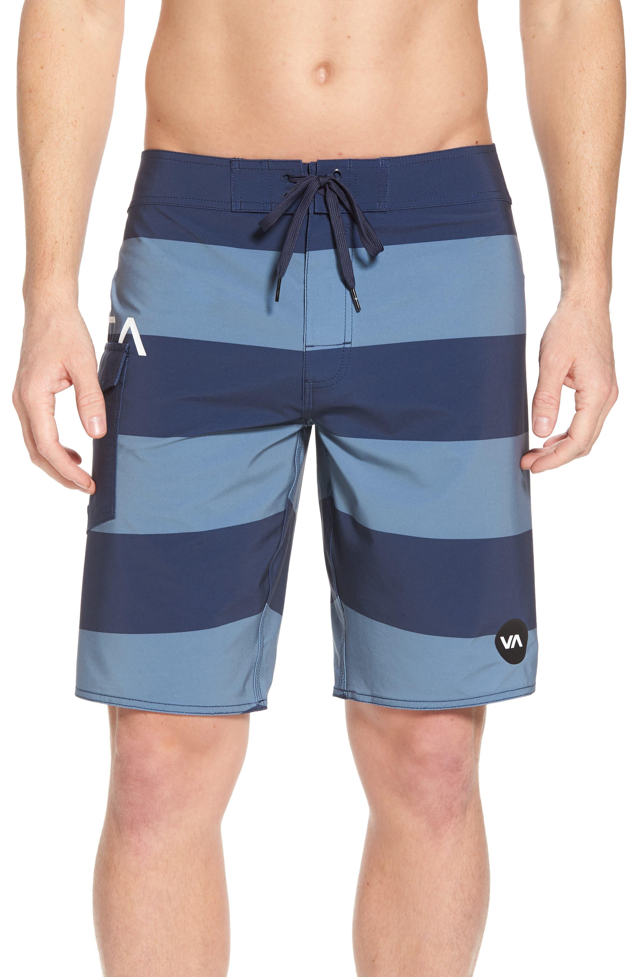 RVCA Uncivil Stripe Board Shorts