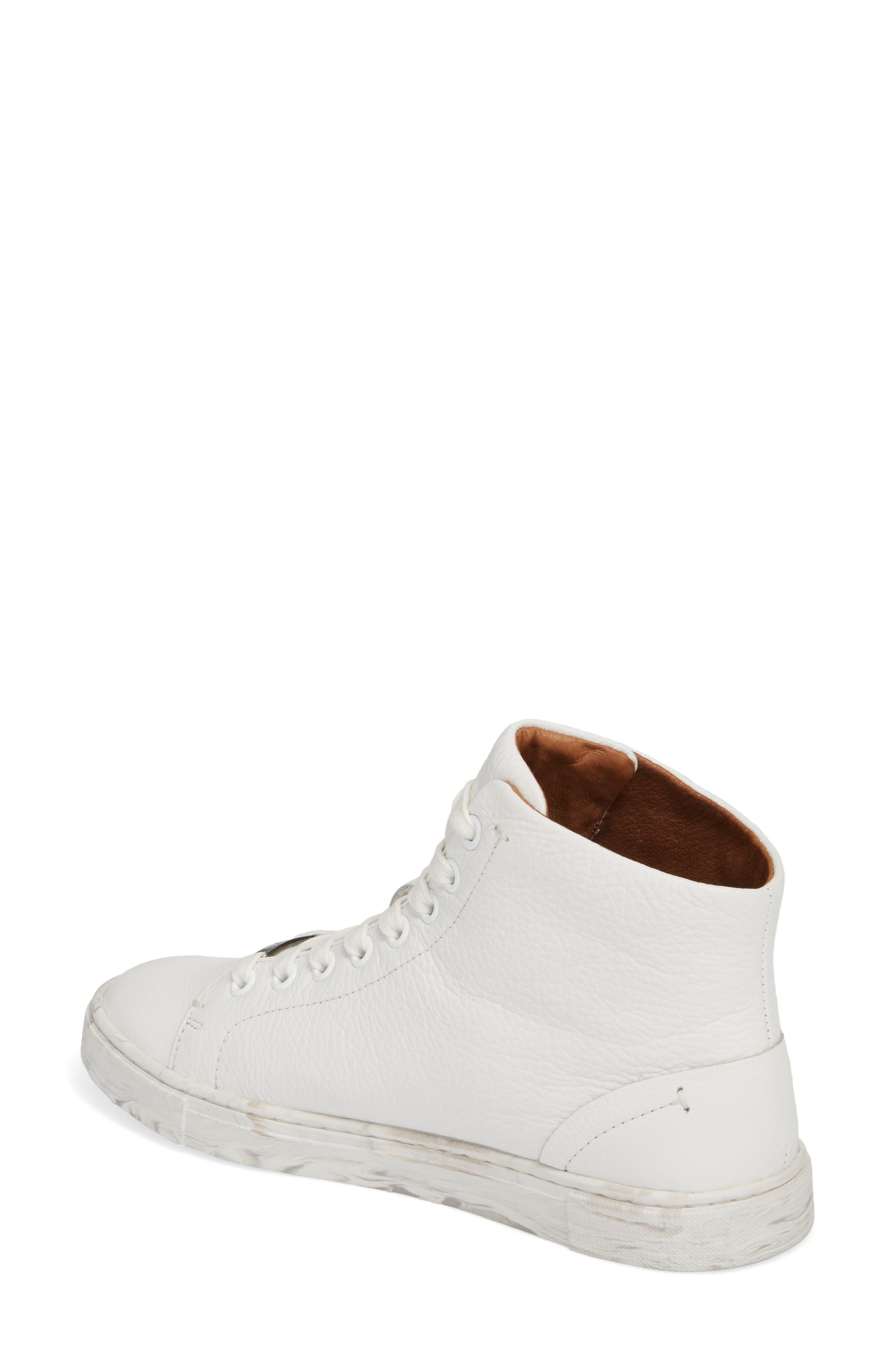 Alternate Image 2  - Frye Ivy High Top Sneaker (Women)
