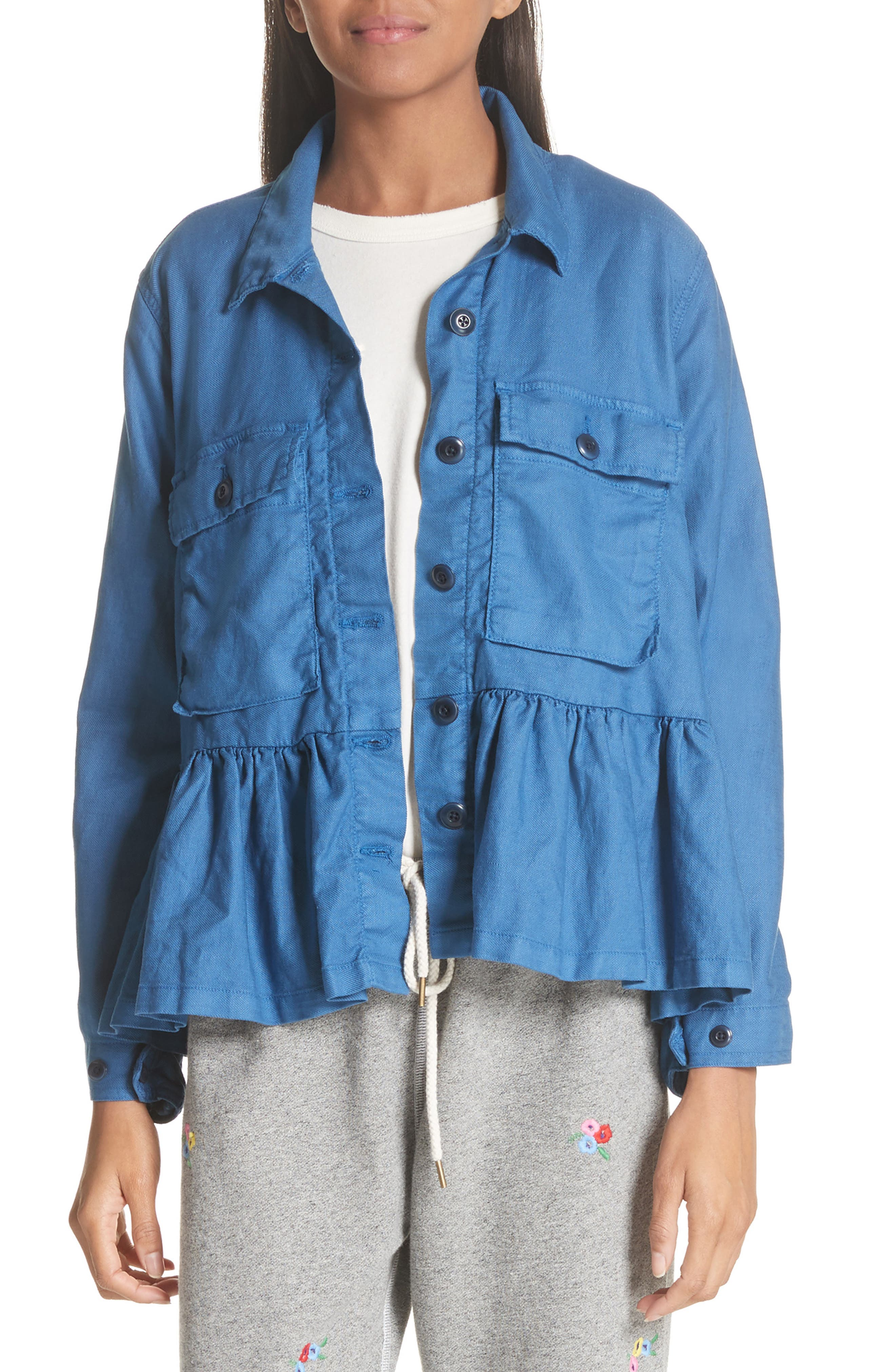 Alternate Image 1 Selected - THE GREAT. The Flutter Army Jacket