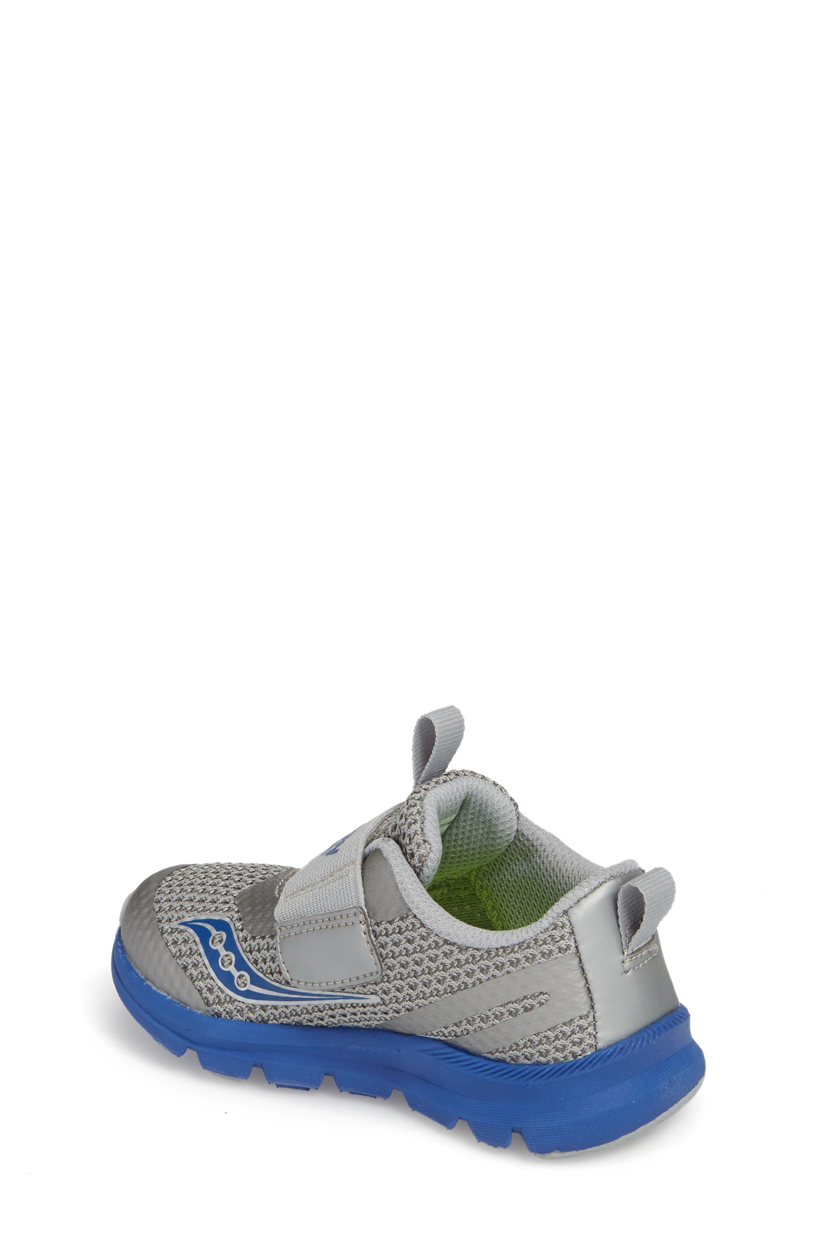 Baby Liteform Sneaker,                             Alternate thumbnail 2, color,                             Grey/ Blue