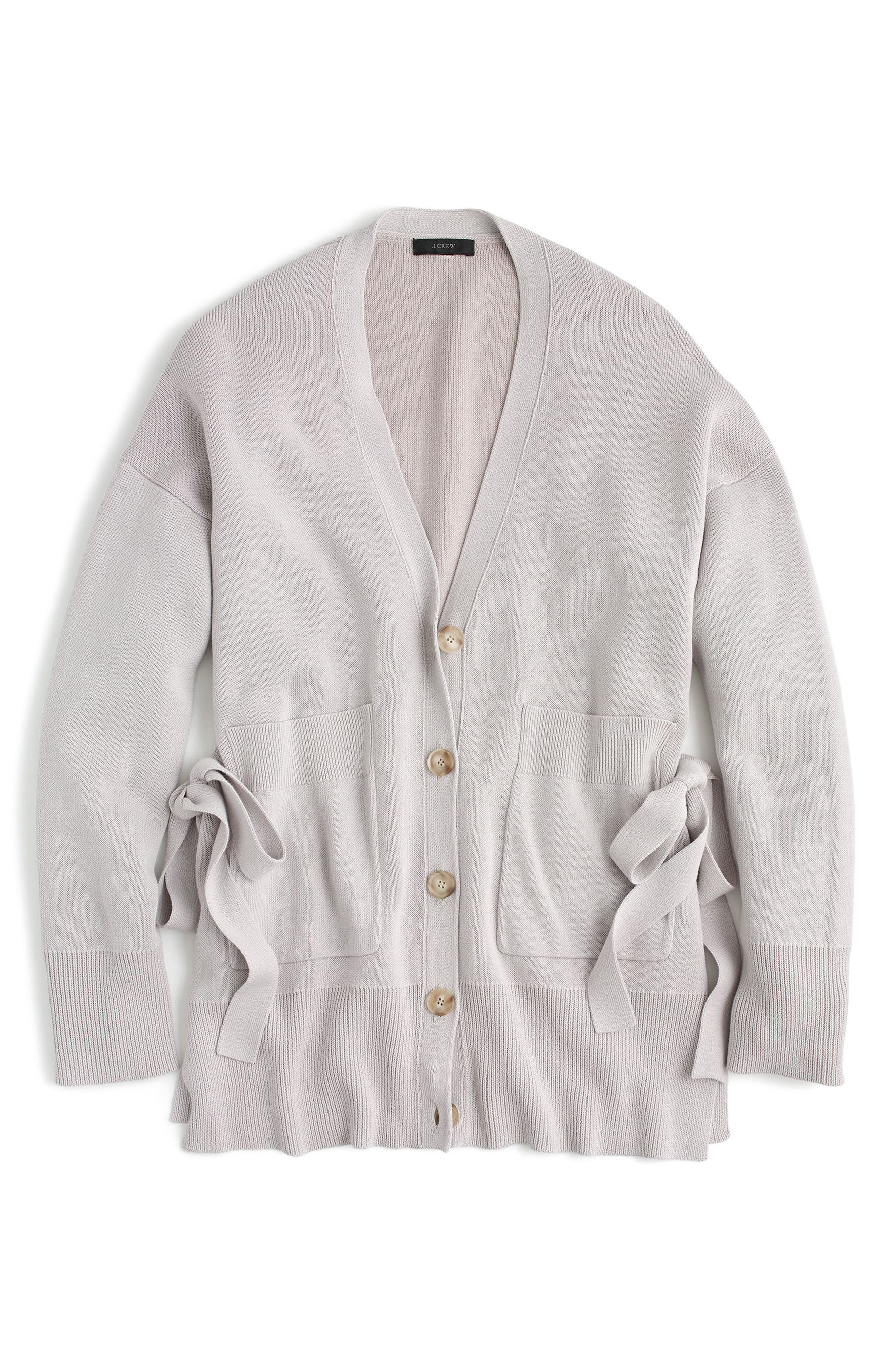 J.Crew Slouchy Cardigan with Side Ties