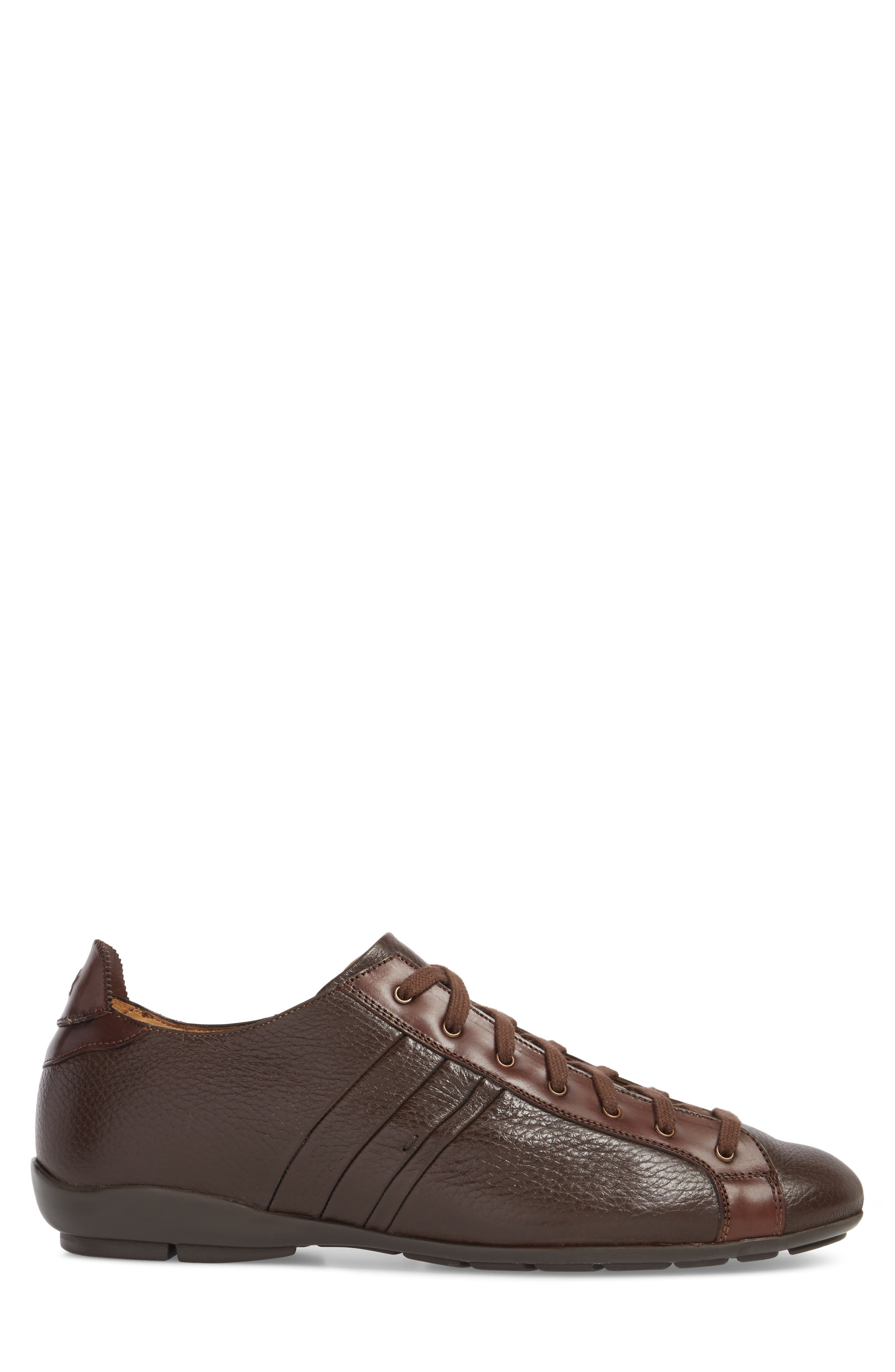 Tiberio Sneaker,                             Alternate thumbnail 3, color,                             Brown
