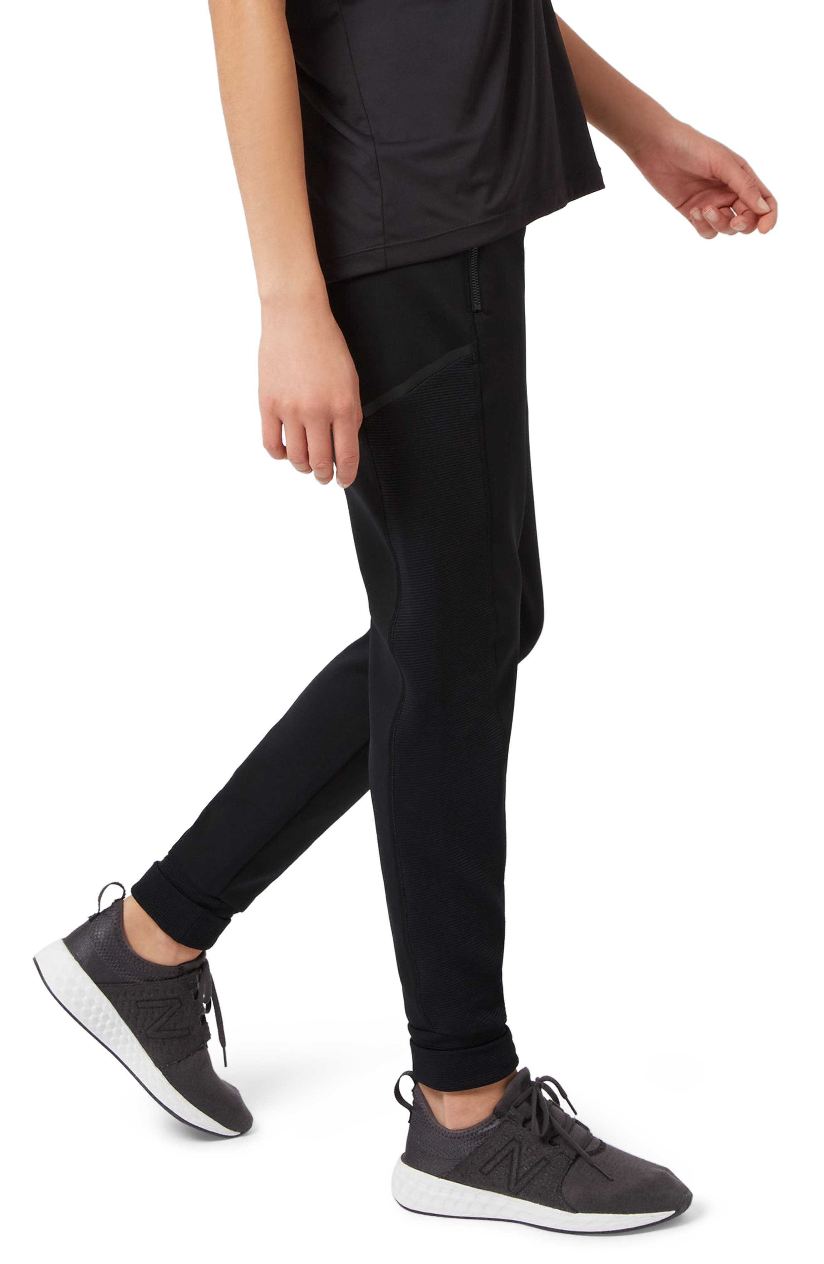Flex Sweatpants,                             Alternate thumbnail 3, color,                             Black