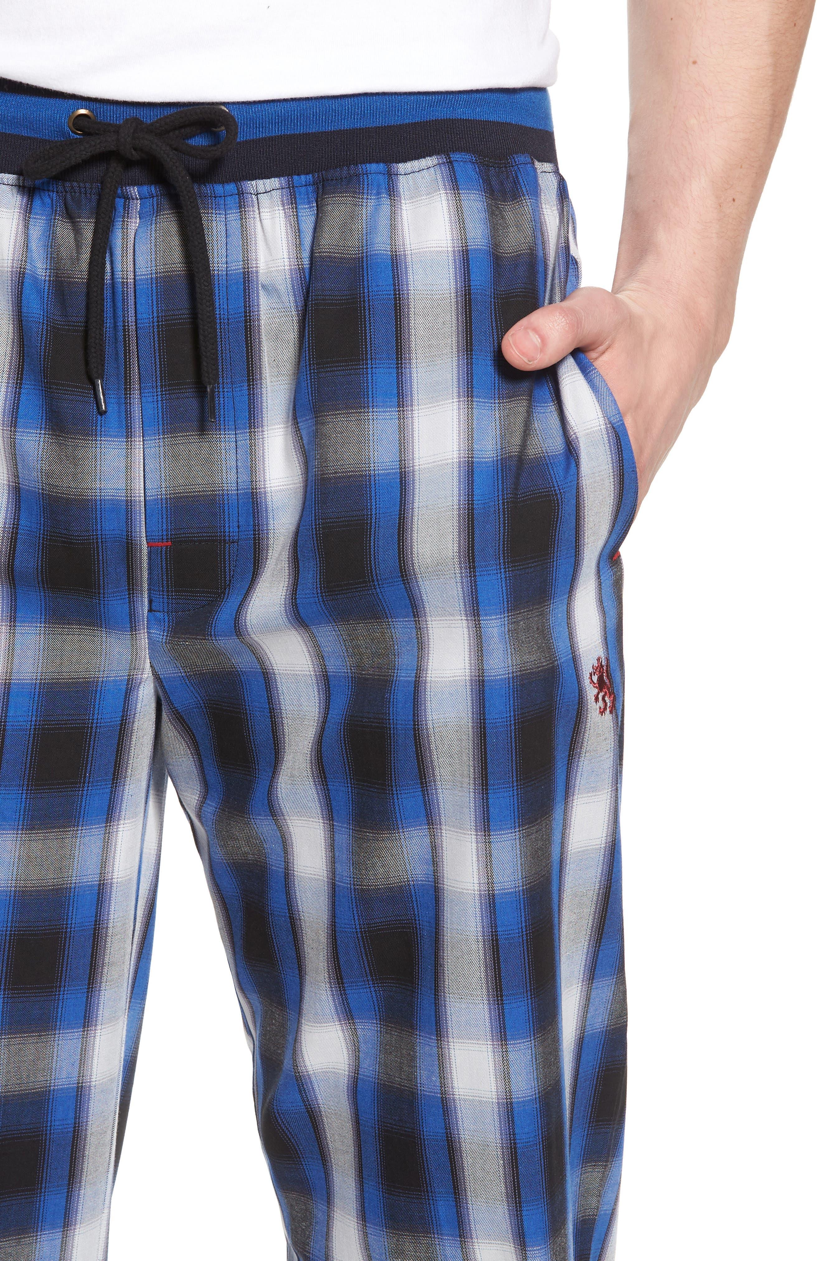Urbane Lounge Pants,                             Alternate thumbnail 4, color,                             Presidio Black