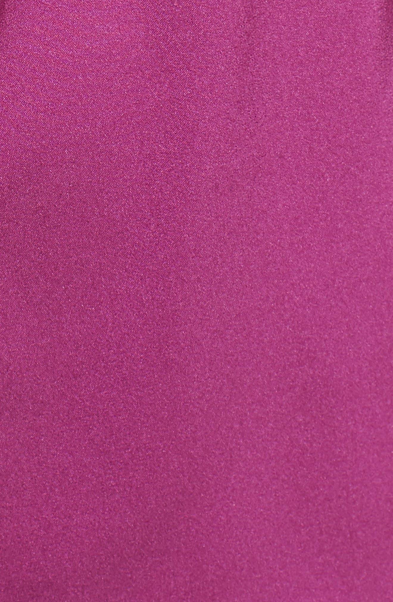 Ismarea Stretch Silk Top,                             Alternate thumbnail 6, color,                             Bougainvillea