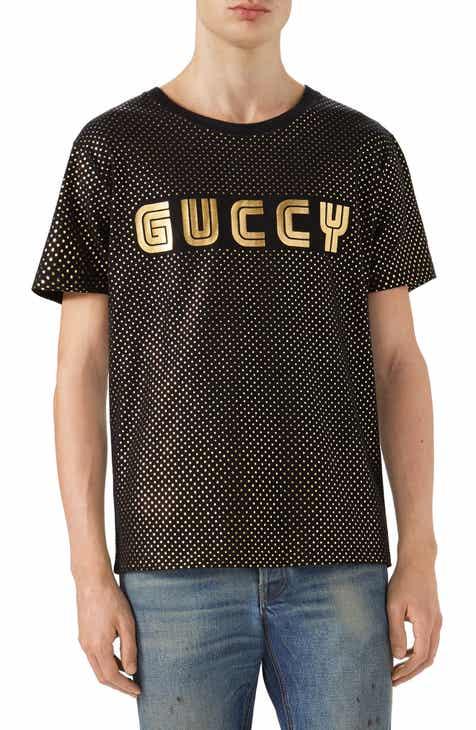 2b57bd8a Gucci Dot Print Logo T-Shirt