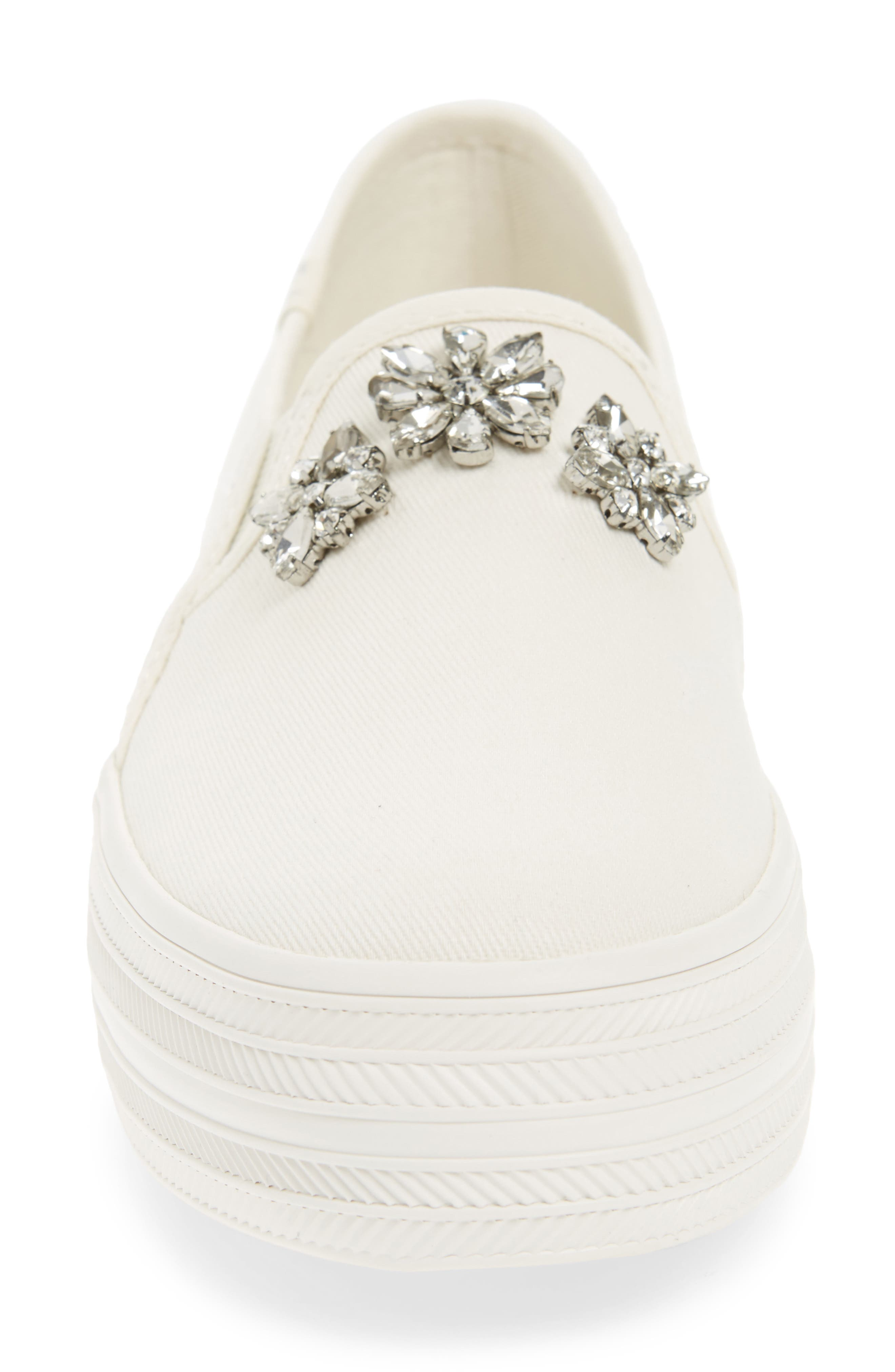 Alternate Image 4  - Keds® for kate spade new york triple decker stones slip-on sneaker (Women)
