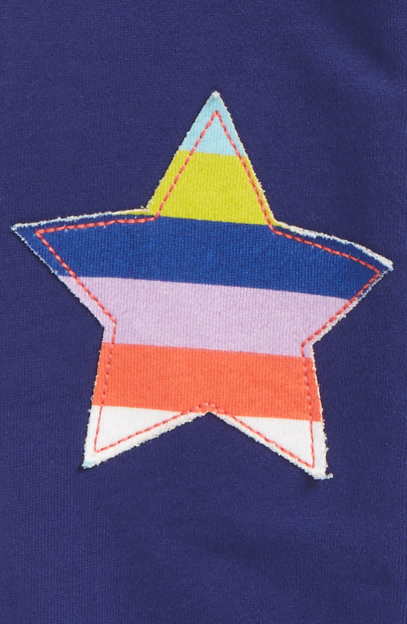 Appliqué Jogger Pants,                             Alternate thumbnail 3, color,                             Starboard Blue Star