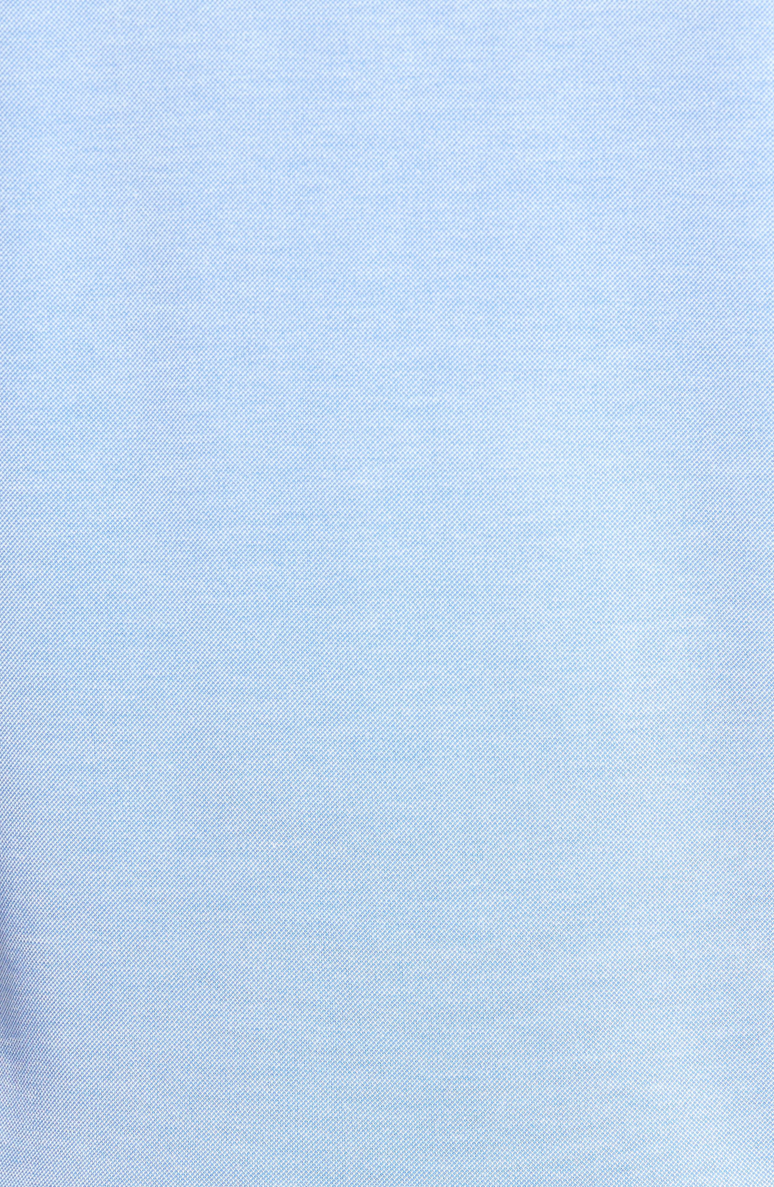 Mikeytt Trim Fit Polo,                             Alternate thumbnail 5, color,                             Bright Blue