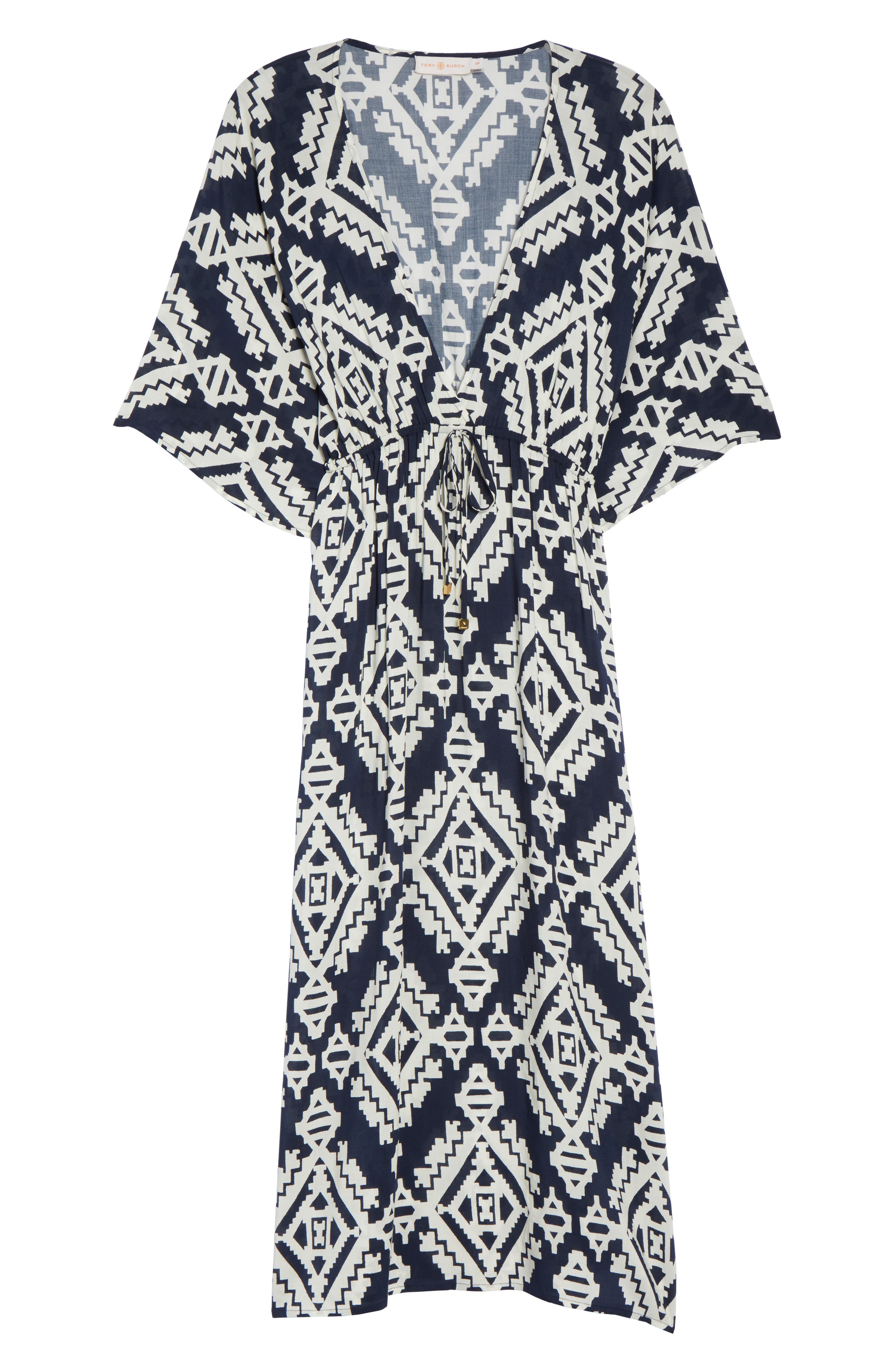 Tapestry Geo Beach Dress,                             Alternate thumbnail 6, color,                             Tapestry Geo