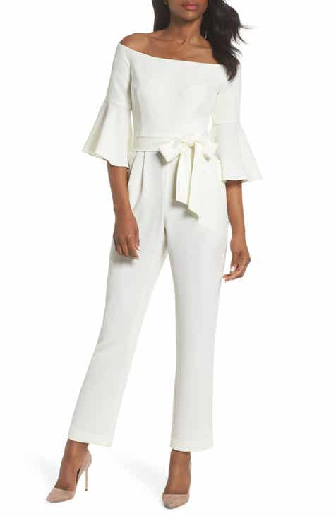 Billabong Paint the Town Wide Leg Crop Jumpsuit by BILLABONG