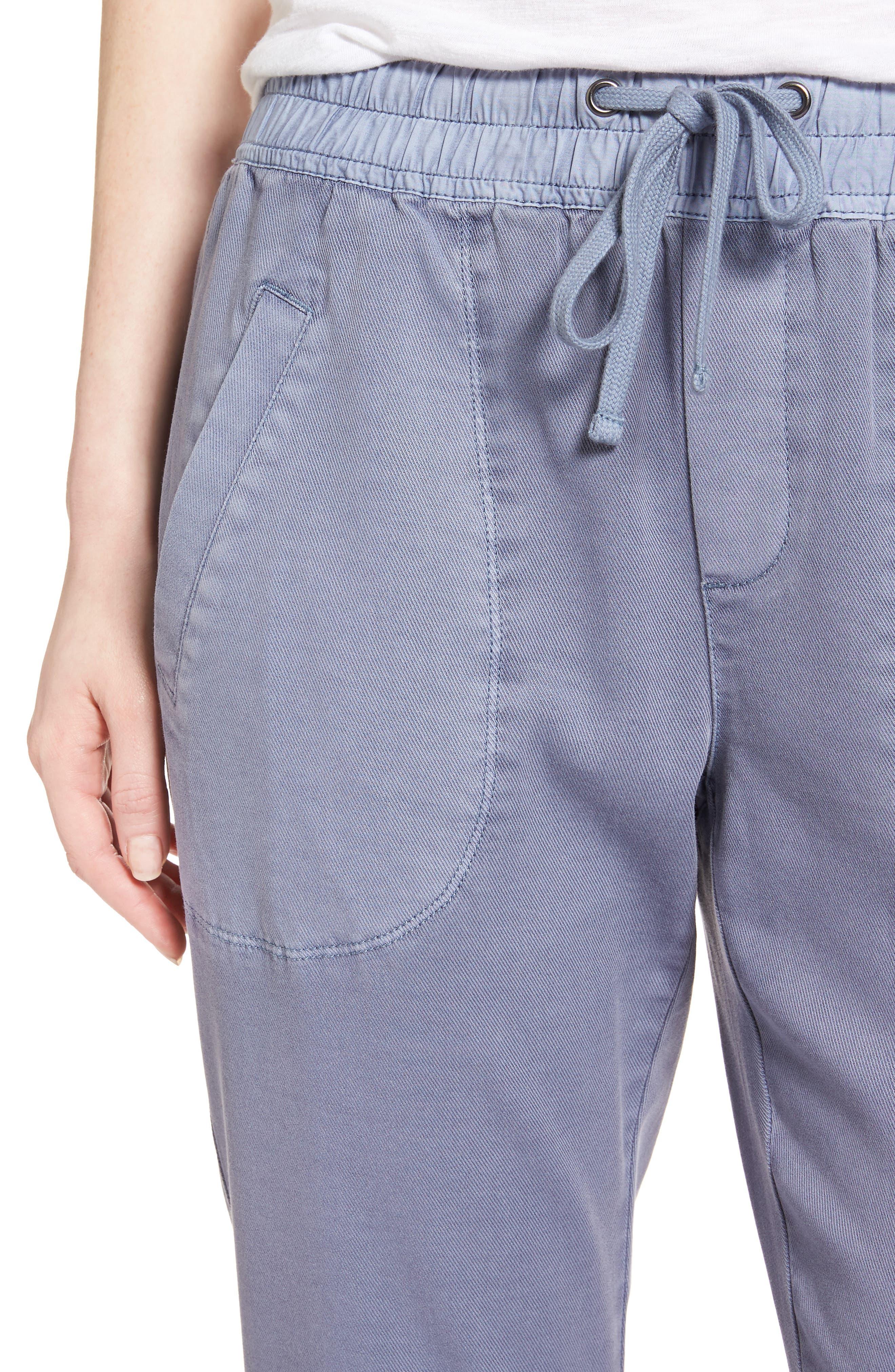 Modern Utility Pants,                             Alternate thumbnail 4, color,                             Indigo Wash