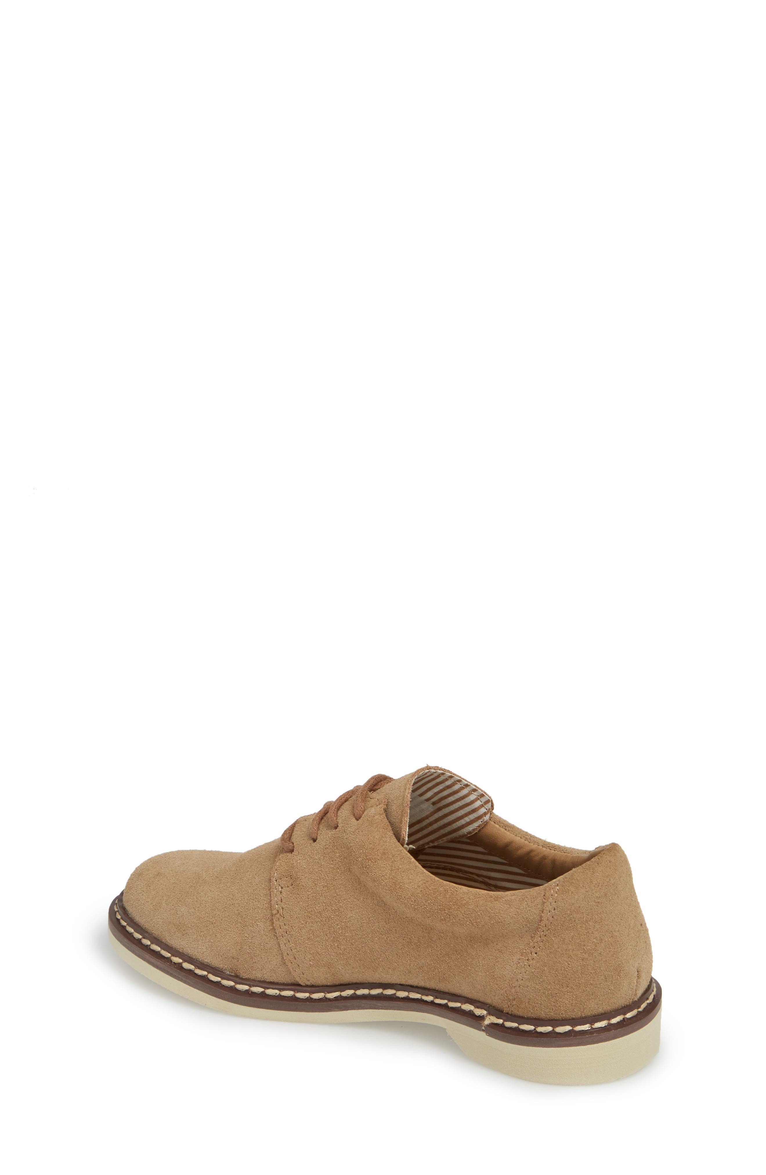 Preston Derby,                             Alternate thumbnail 2, color,                             Taupe Leather