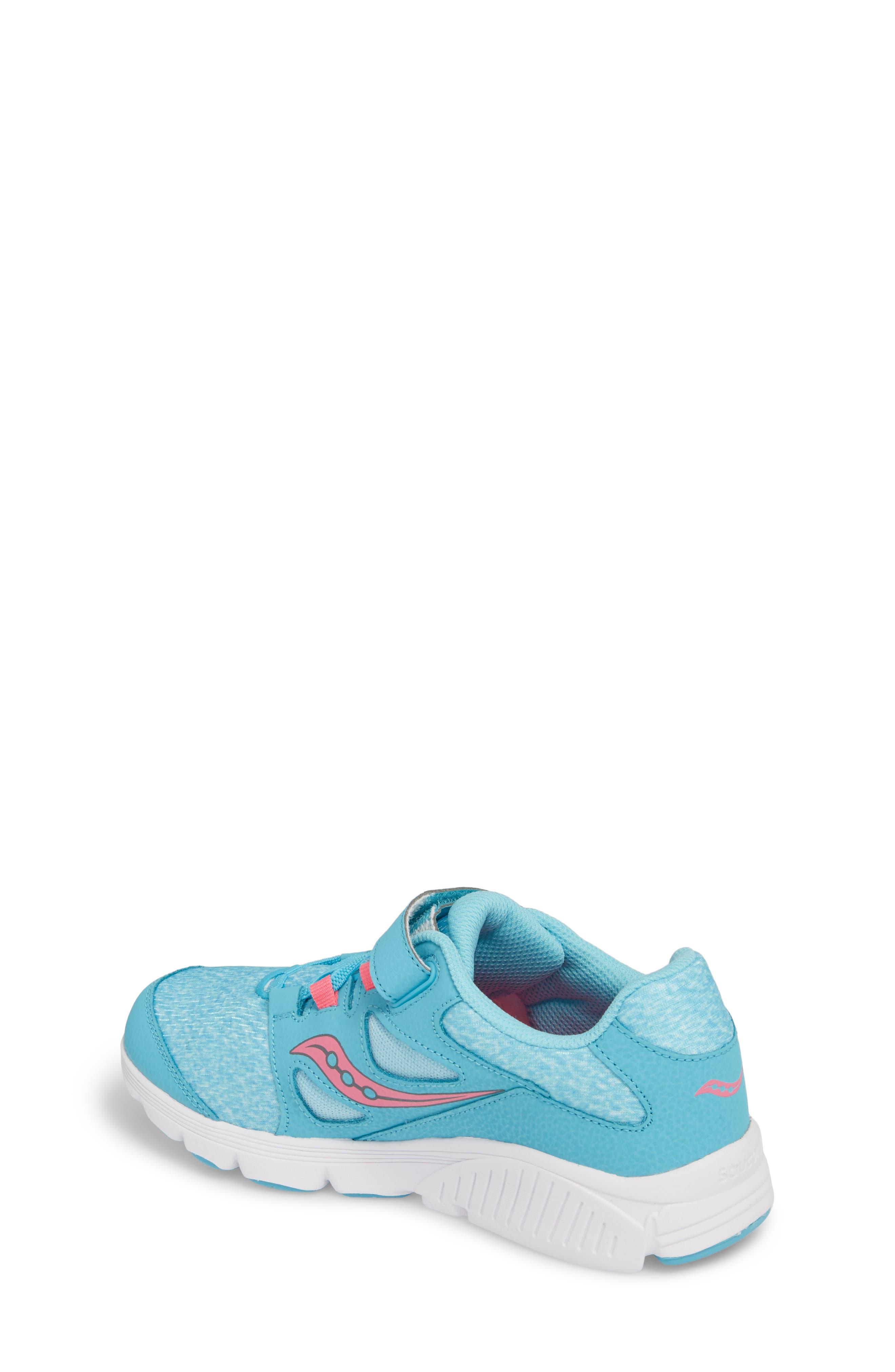 Kotaro 4 Sneaker,                             Alternate thumbnail 2, color,                             Turquoise/ Pink