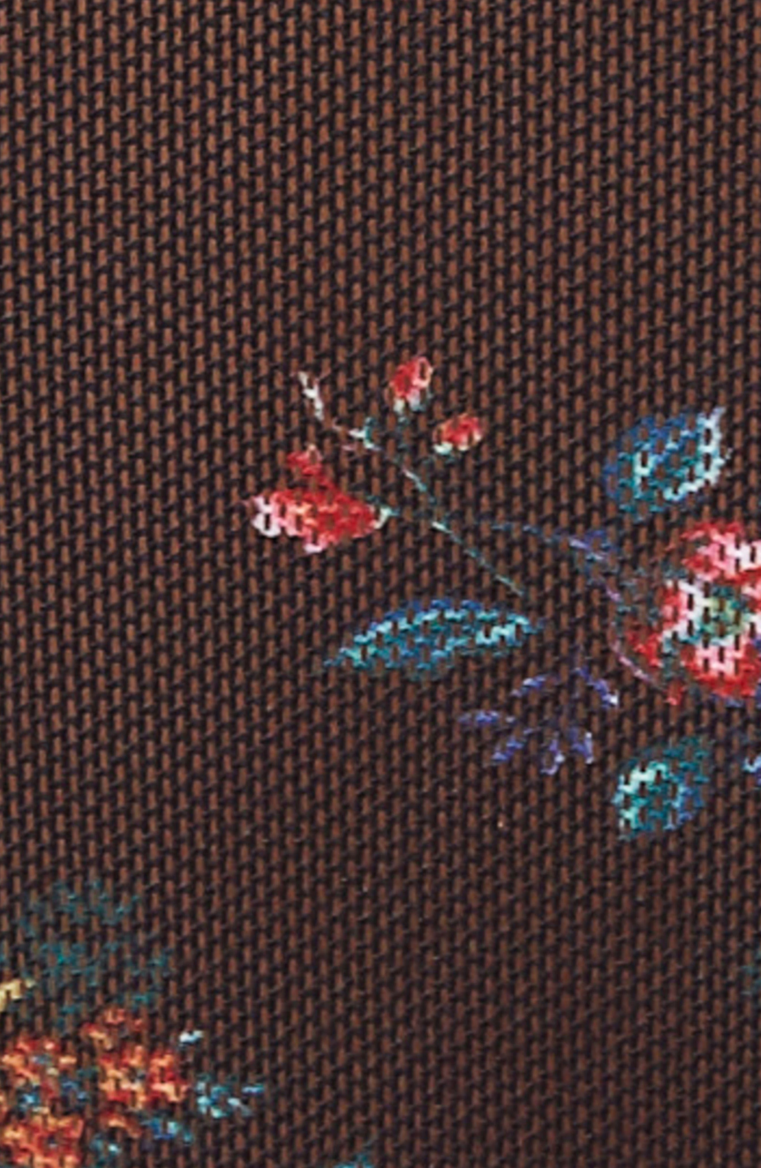 Alternate Image 5  - AFRM Zadie Semi Sheer Turtleneck