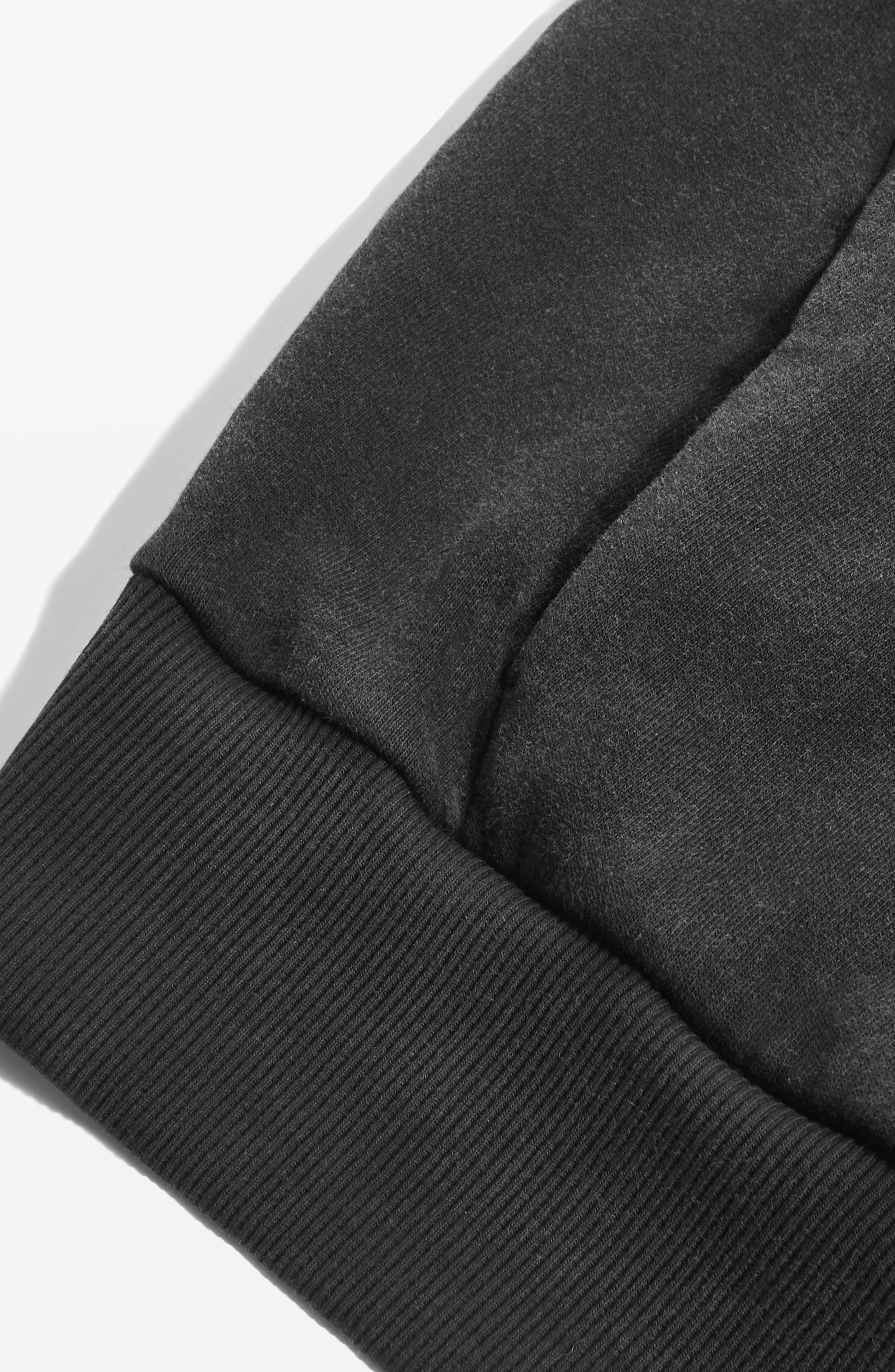 Alternate Image 3  - Topshop Boutique Tie Sleeve Hoodie