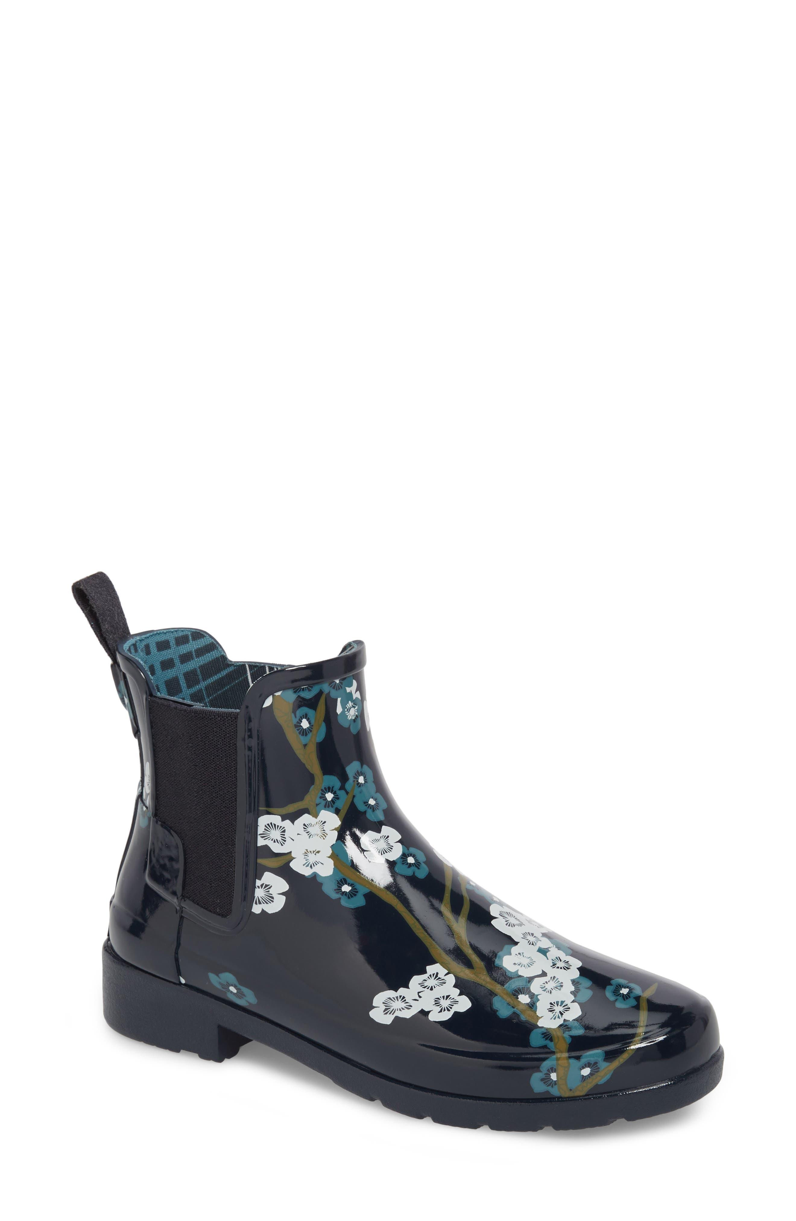 Alternate Image 1 Selected - Hunter 'Original Refined' Chelsea Rain Boot (Women)