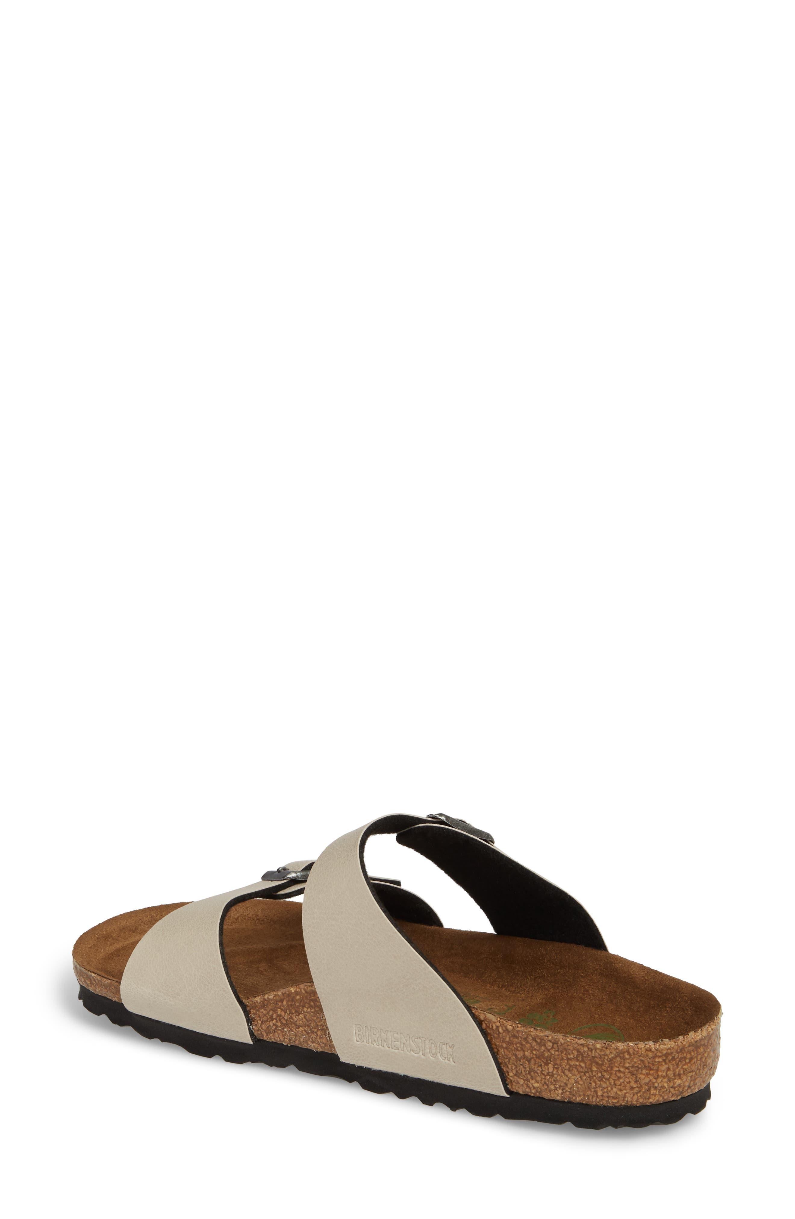 'Sydney' Sandal,                             Alternate thumbnail 2, color,                             Stone Leather