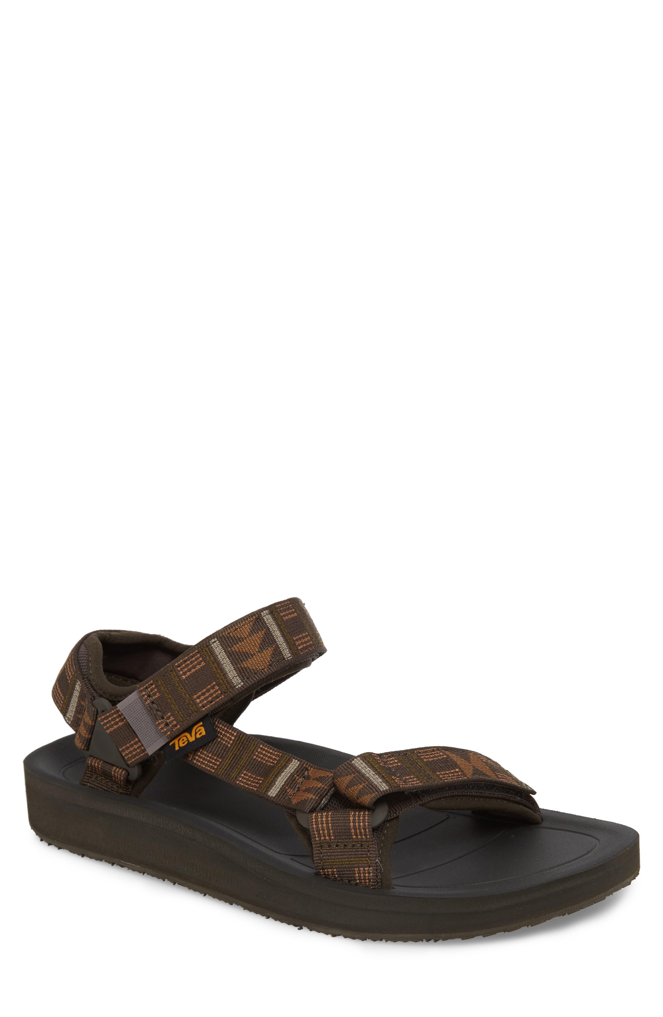 Original Universal Premier Sandal,                         Main,                         color, Brown Nylon