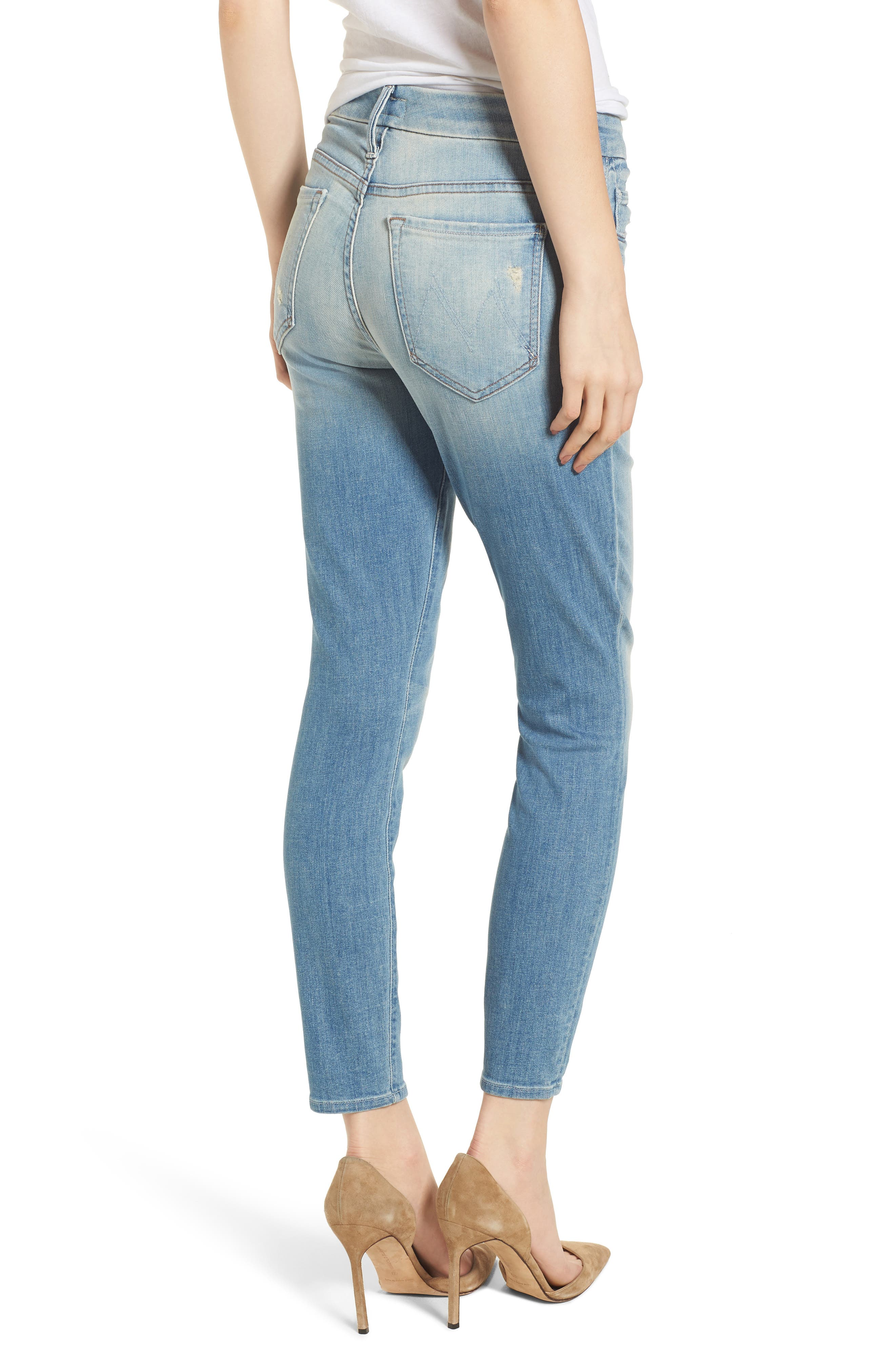 The Looker Crop Skinny Jeans,                             Alternate thumbnail 2, color,                             Shake Well