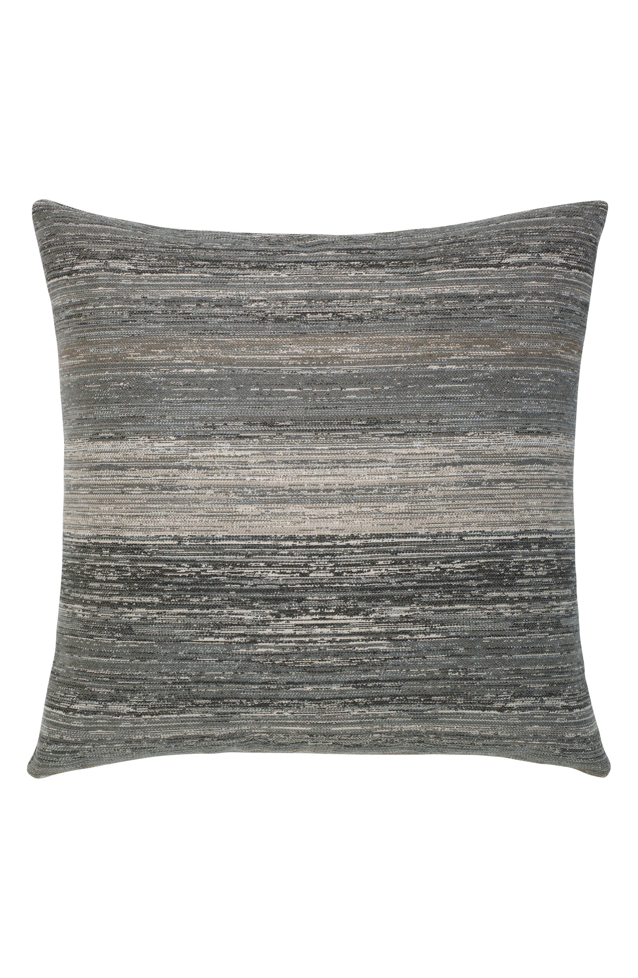 Elaine Smith Textured Grigio Indoor/Outdoor Accent Pillow