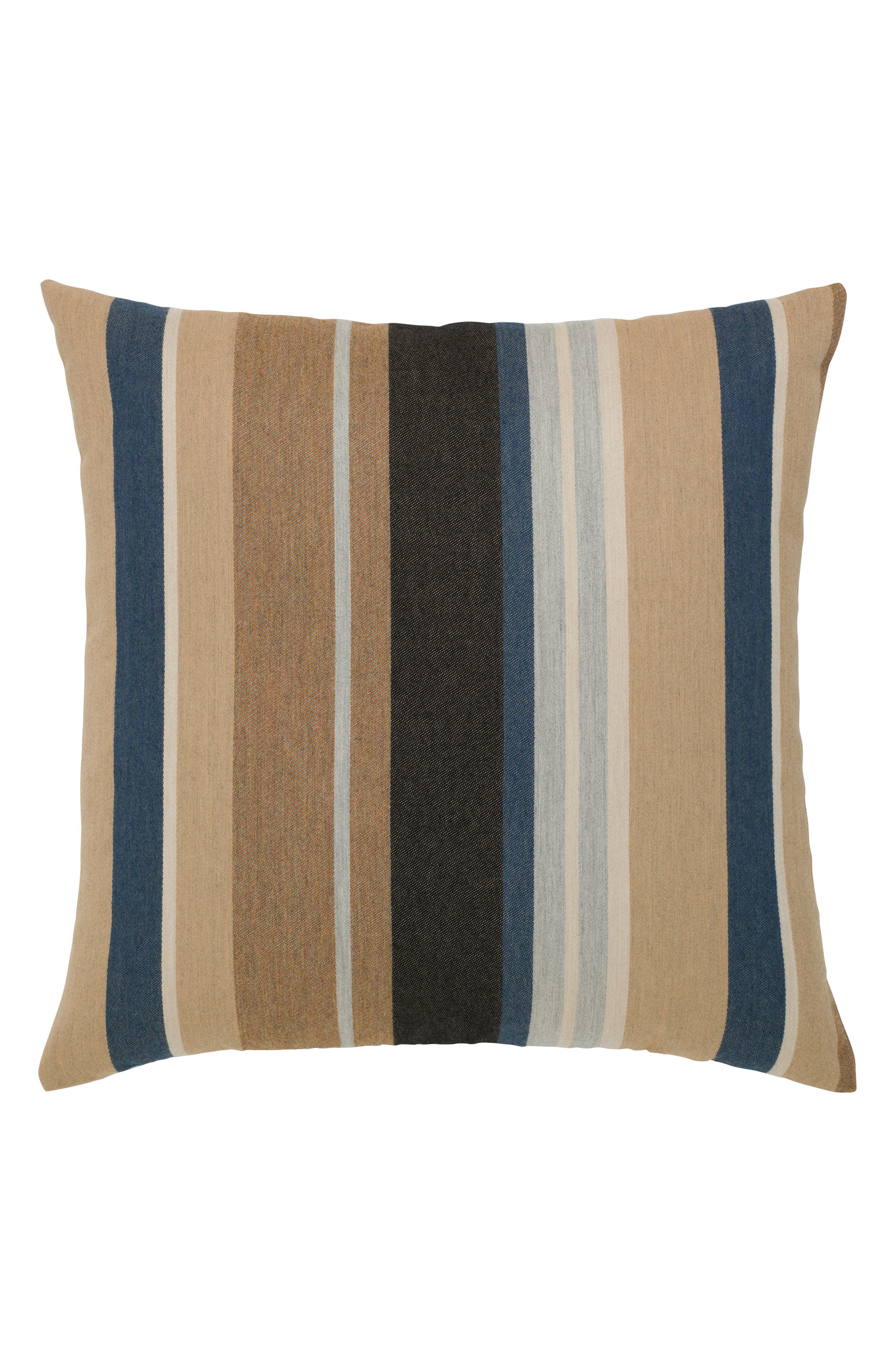Reflection Indoor/Outdoor Accent Pillow,                         Main,                         color, Brown/ Blue