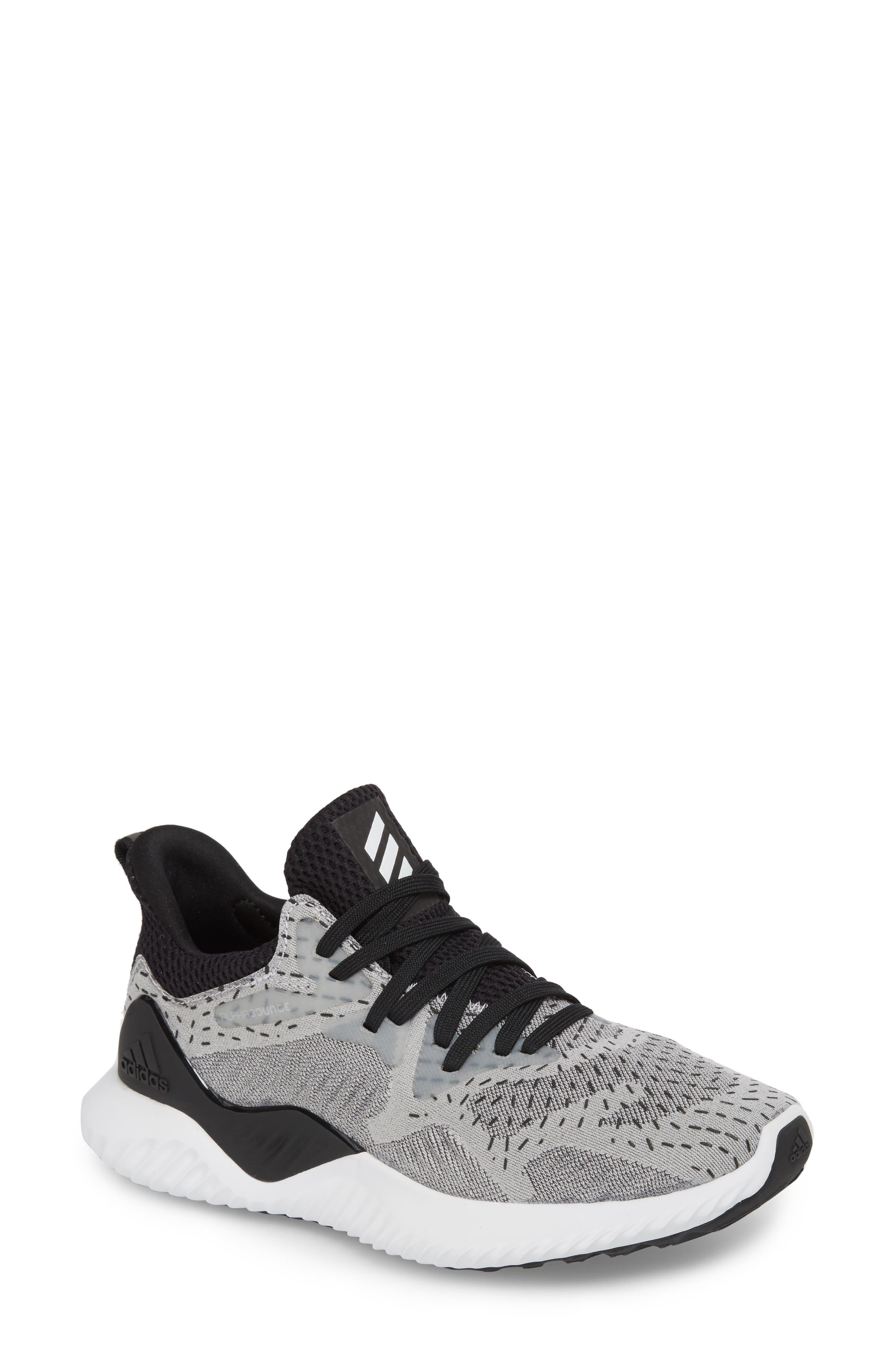 adidas AlphaBounce Beyond Knit Running Shoe (Women)