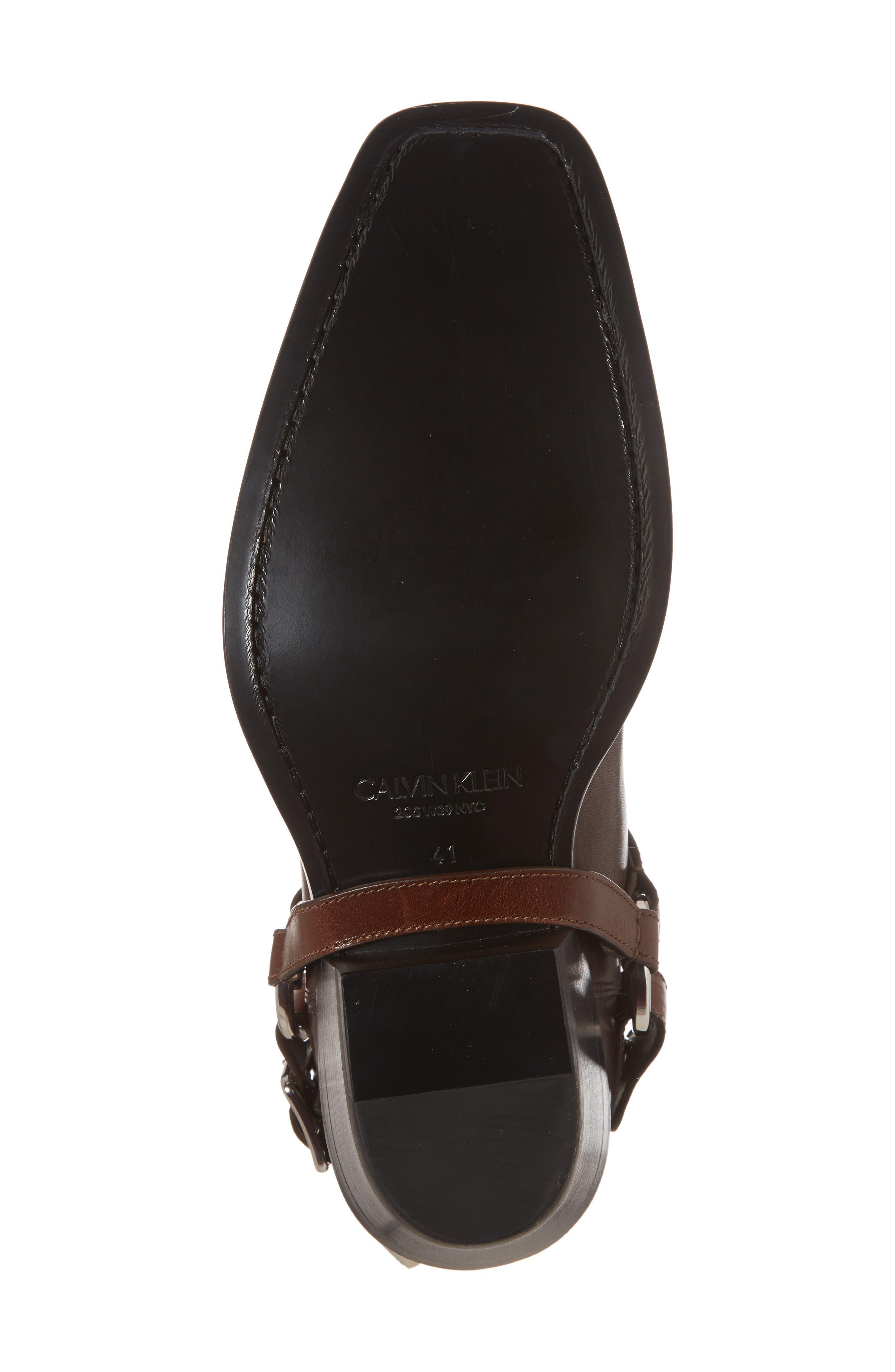 Alternate Image 6  - CALVIN KLEIN 205W39NYC Harness Chelsea Boot (Men)