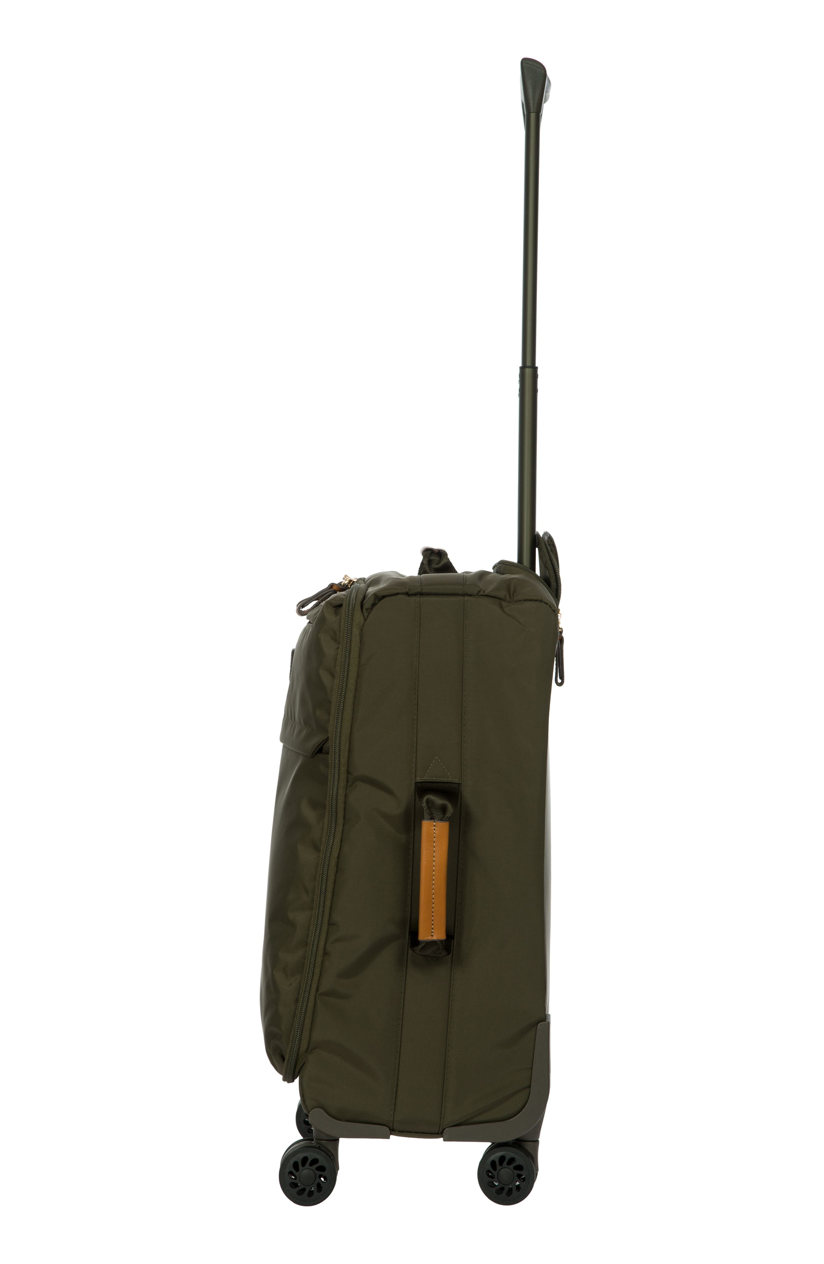 X-Bag 21-Inch Spinner Carry-On,                             Alternate thumbnail 4, color,                             Olive