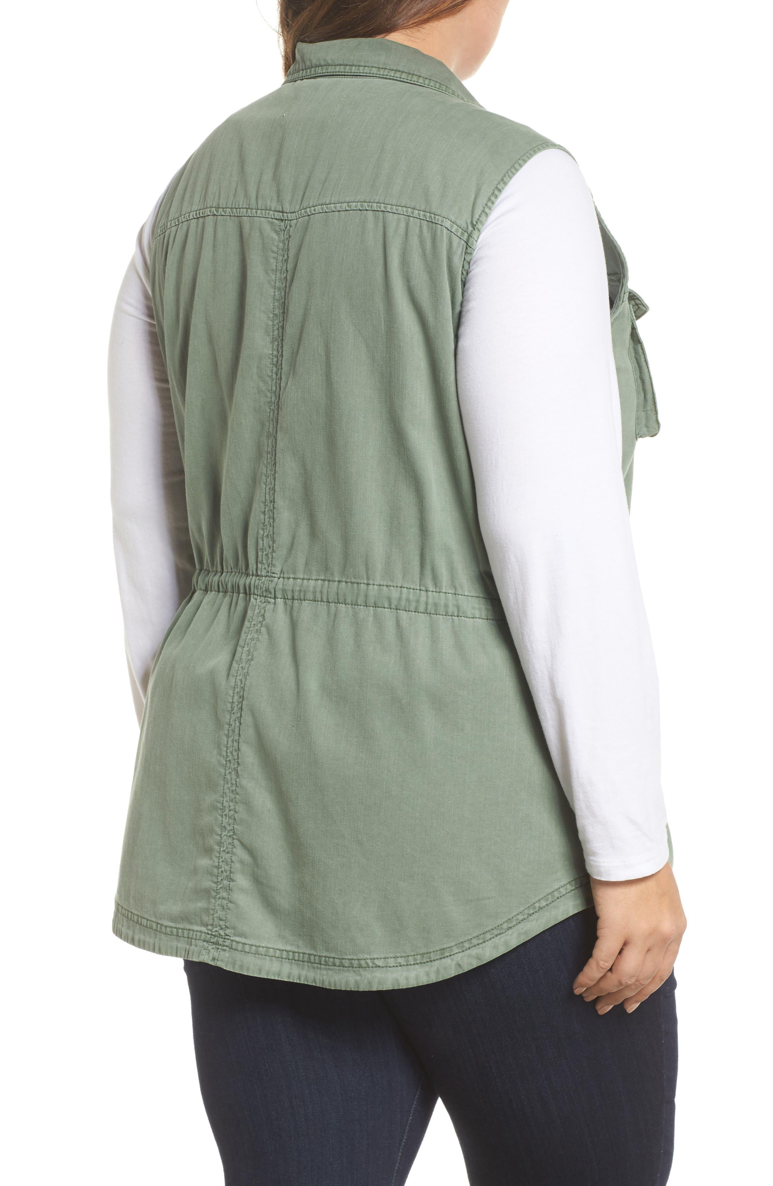 Utility Vest,                             Alternate thumbnail 2, color,                             Green Dune