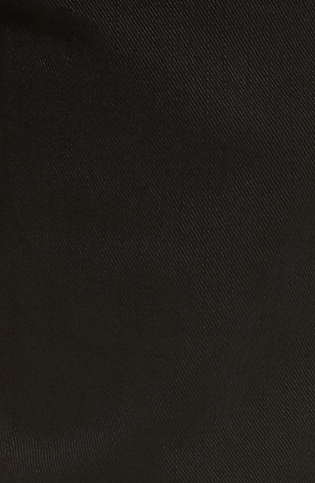 Jeans Co. Kingston Slim Straight Leg Jeans,                             Alternate thumbnail 5, color,                             Black Rinse