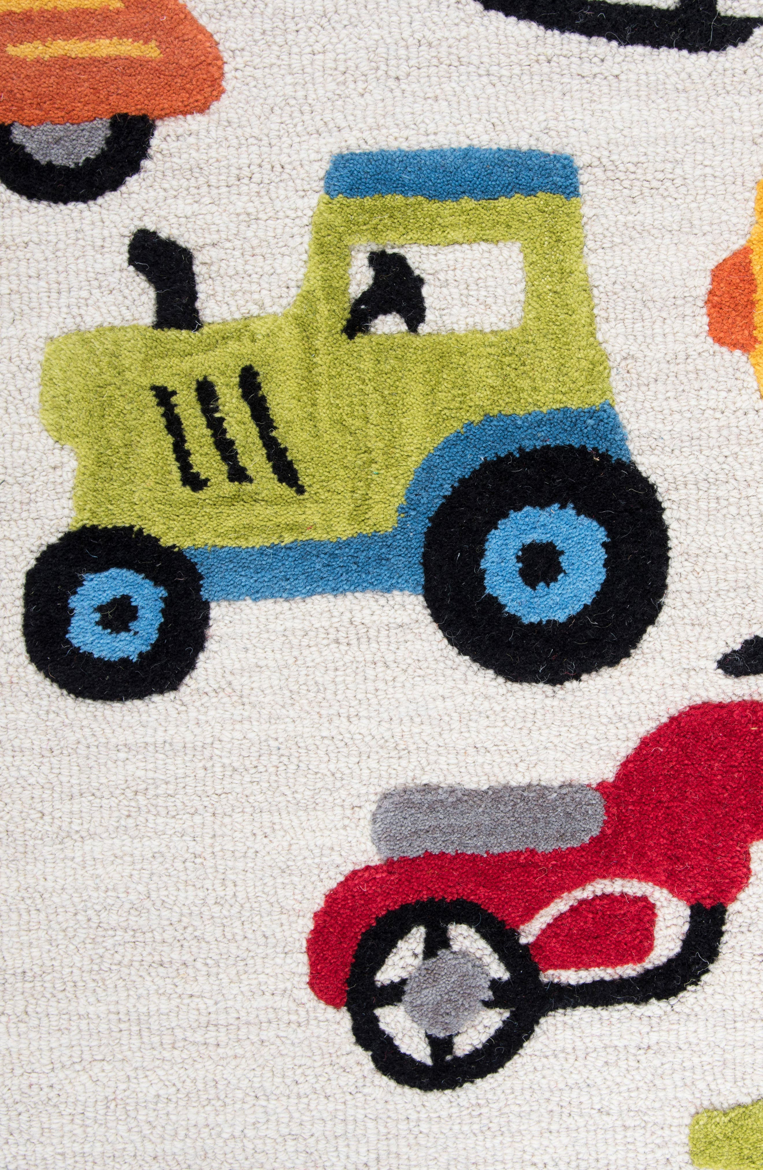 Play Day Motor Rug,                             Alternate thumbnail 2, color,                             Ivory