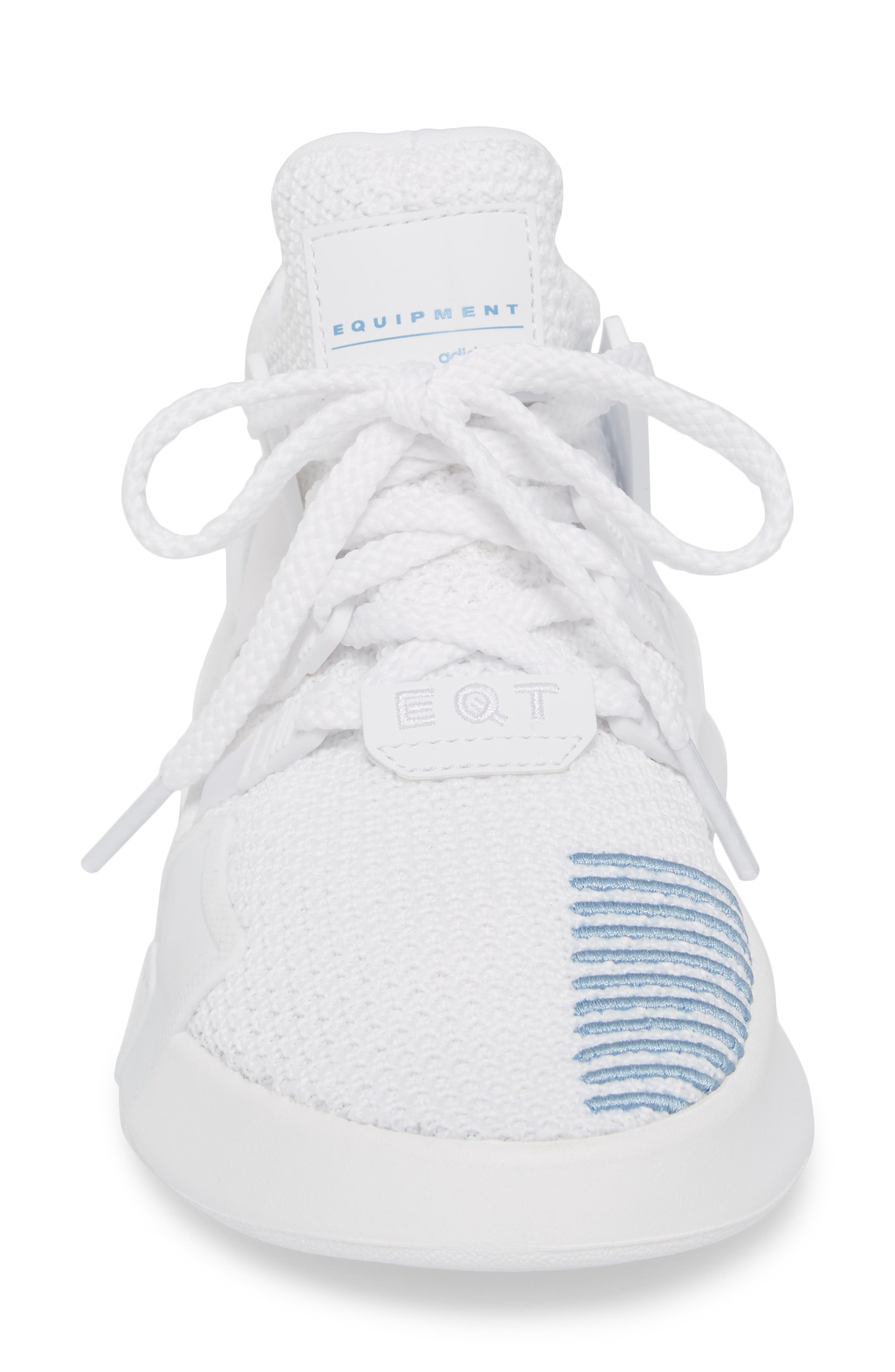EQT Basketball ADV Sneaker,                             Alternate thumbnail 4, color,                             White/ White/ Ash Blue