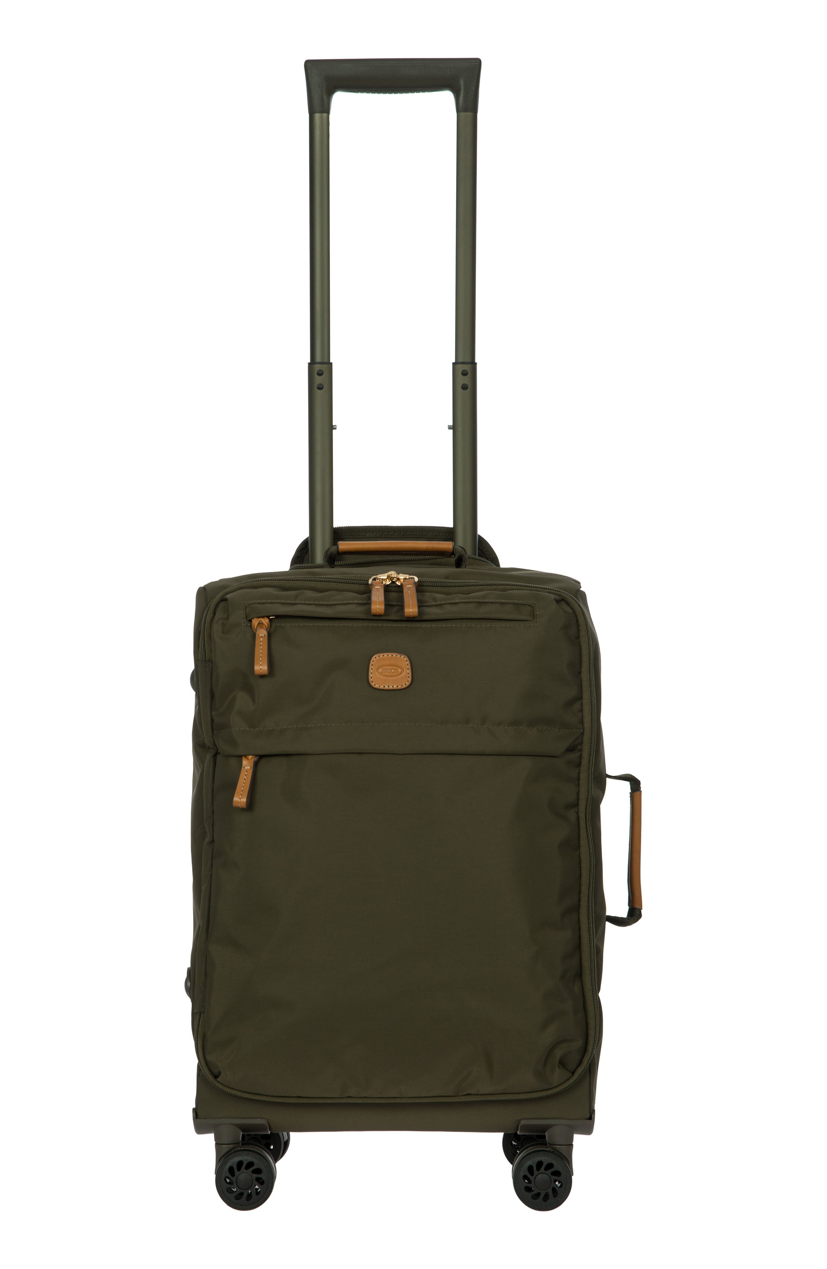 X-Bag 21-Inch Spinner Carry-On,                             Main thumbnail 1, color,                             Olive