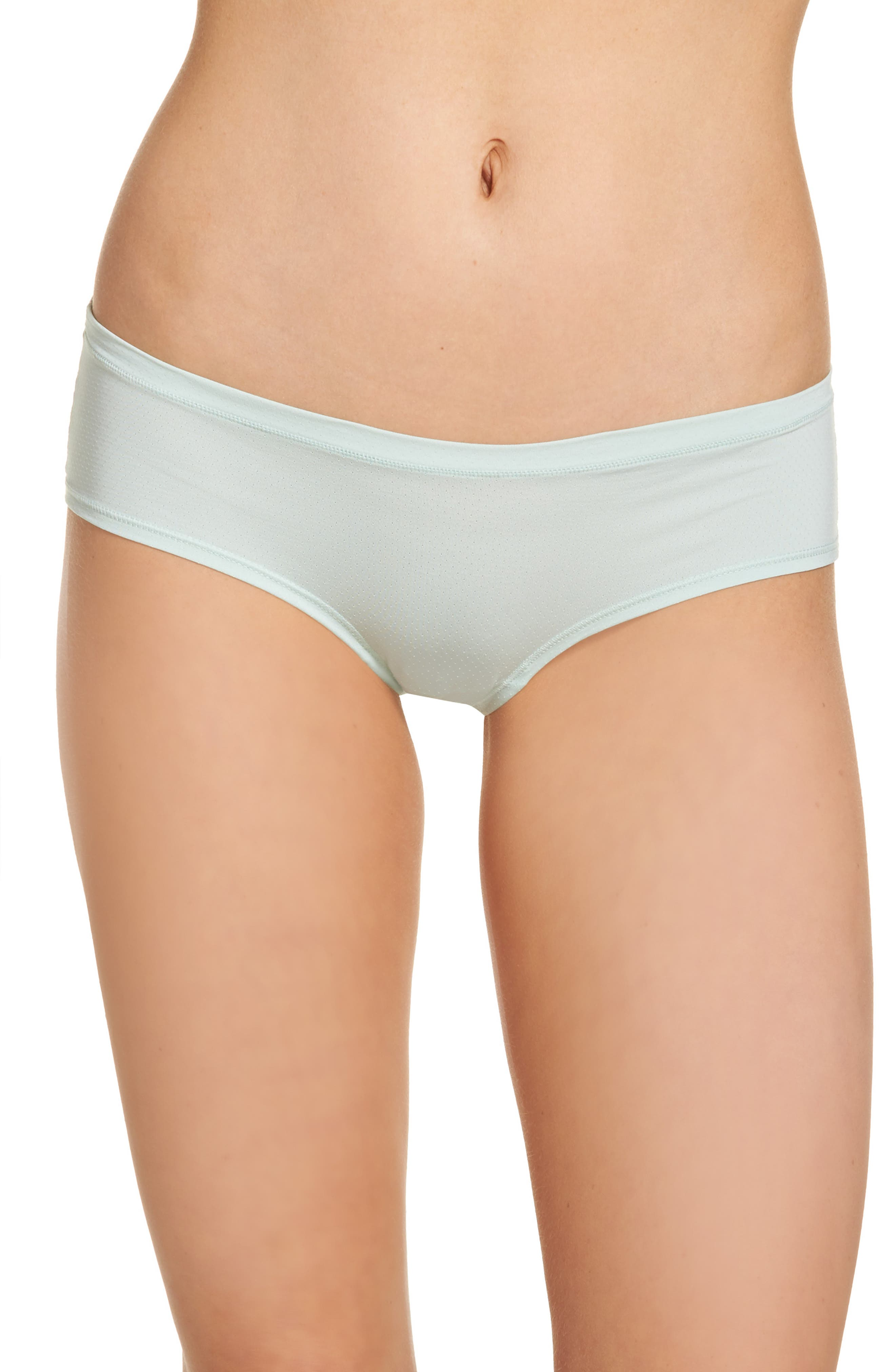 Alternate Image 1 Selected - Zella Body Active Mesh Hipster Briefs (3 for $33)